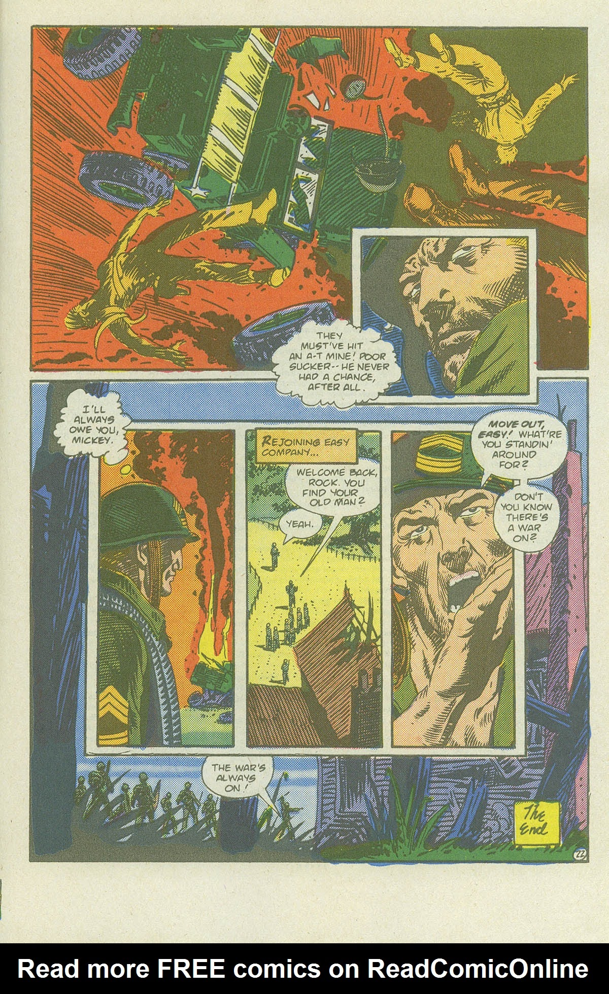 Read online Sgt. Rock comic -  Issue #419 - 29