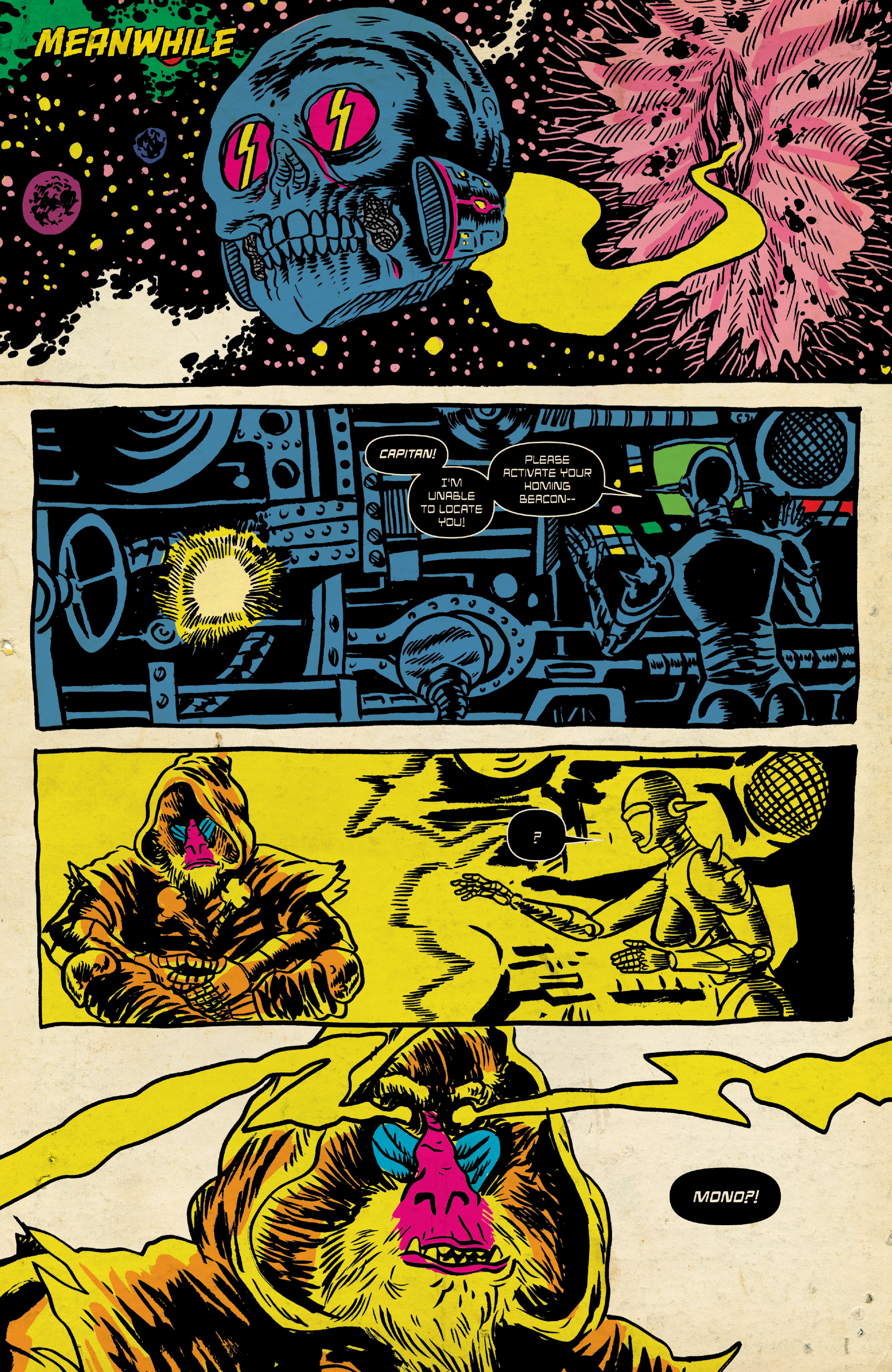 Read online Space Riders: Galaxy of Brutality comic -  Issue #2 - 7