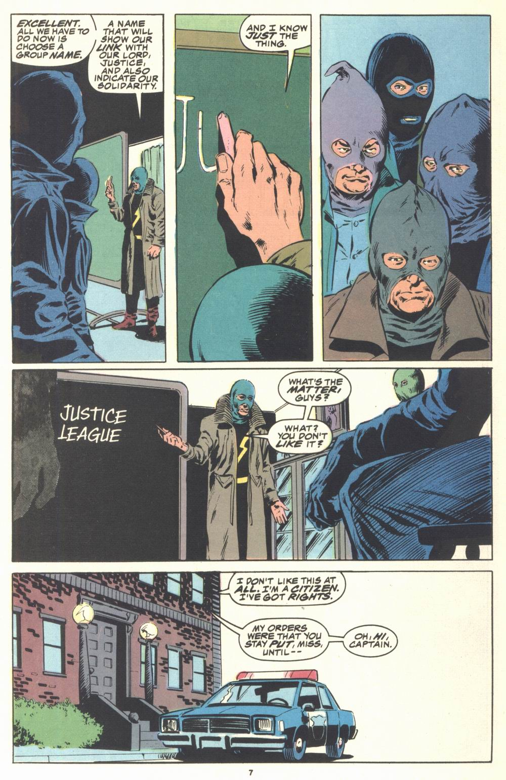 Read online Justice (1986) comic -  Issue #21 - 9