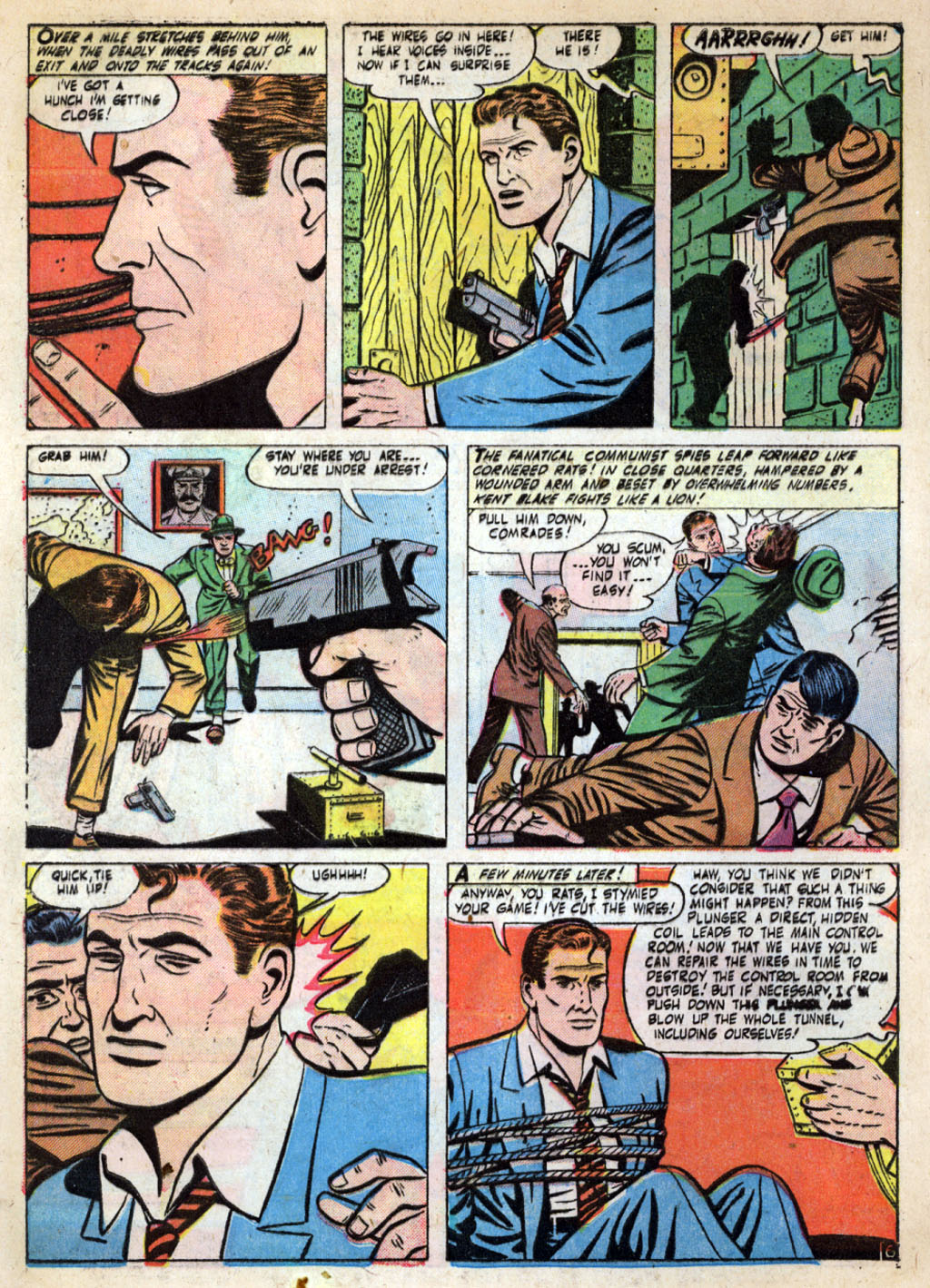 Kent Blake of the Secret Service issue 4 - Page 8