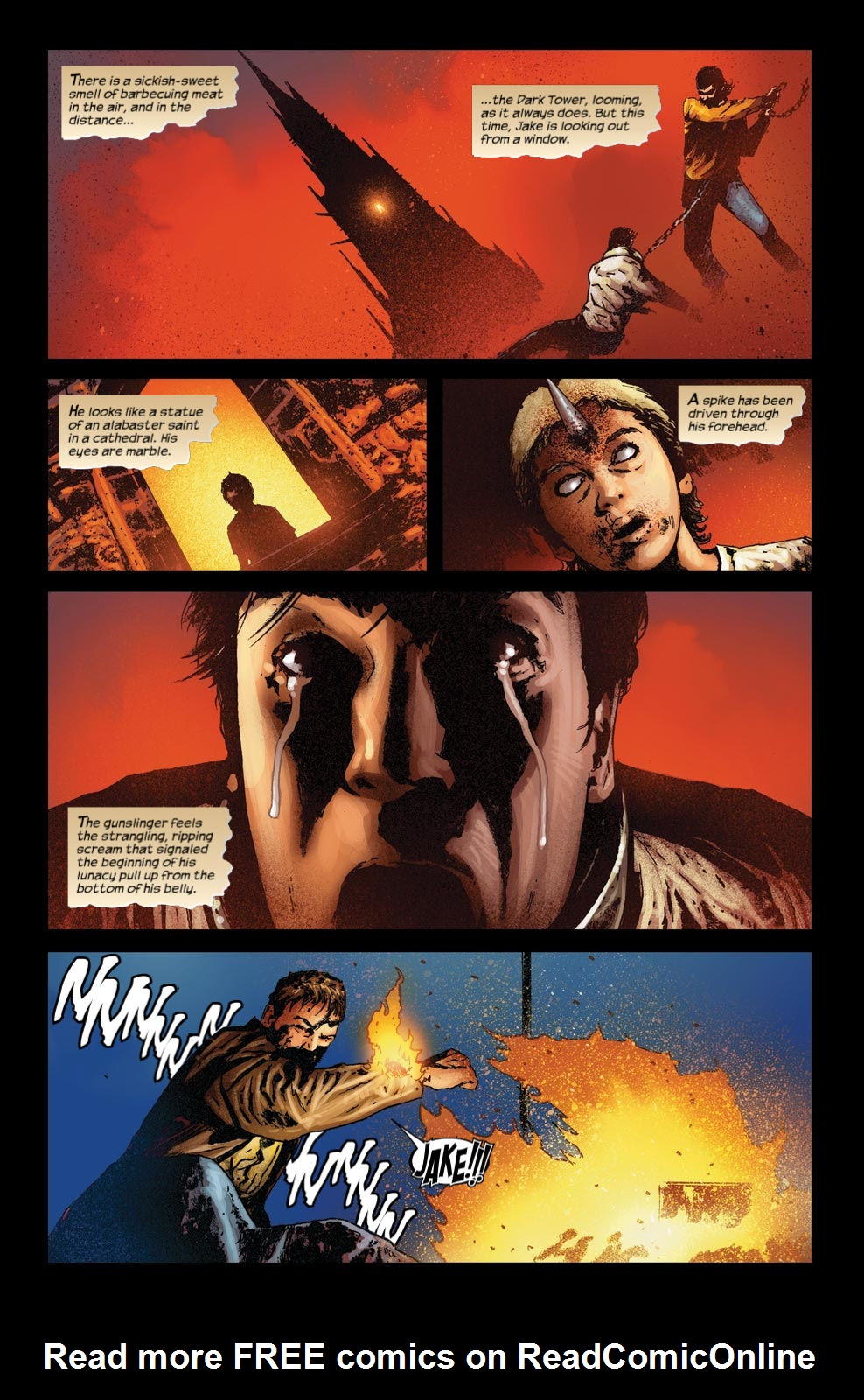 Read online Dark Tower: The Gunslinger - The Way Station comic -  Issue #4 - 18