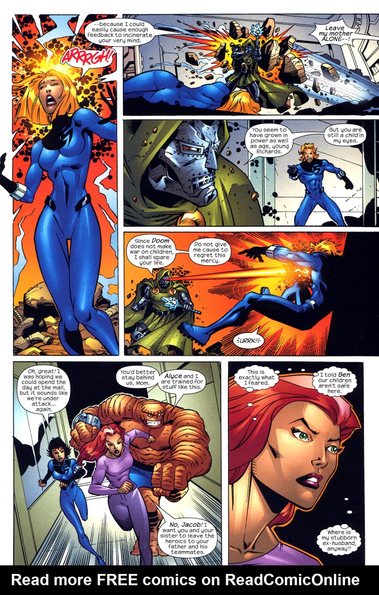 Read online Fantastic Five (2007) comic -  Issue #2 - 5