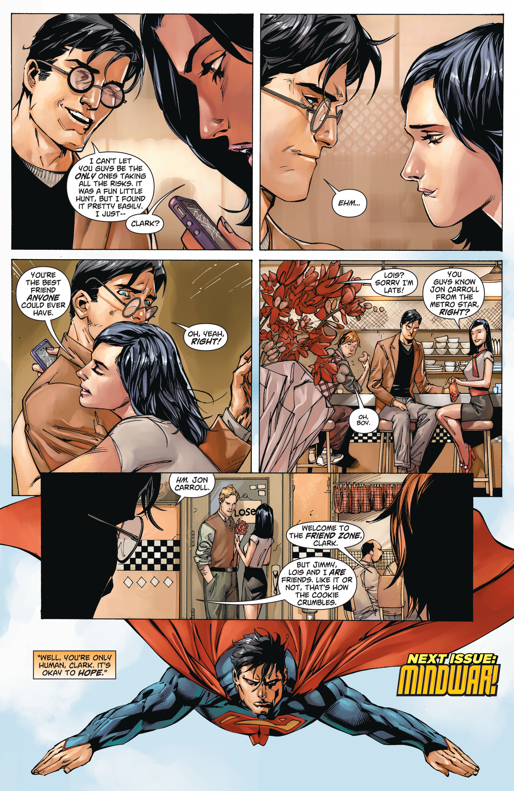 Read online Action Comics (2011) comic -  Issue #21 - 20