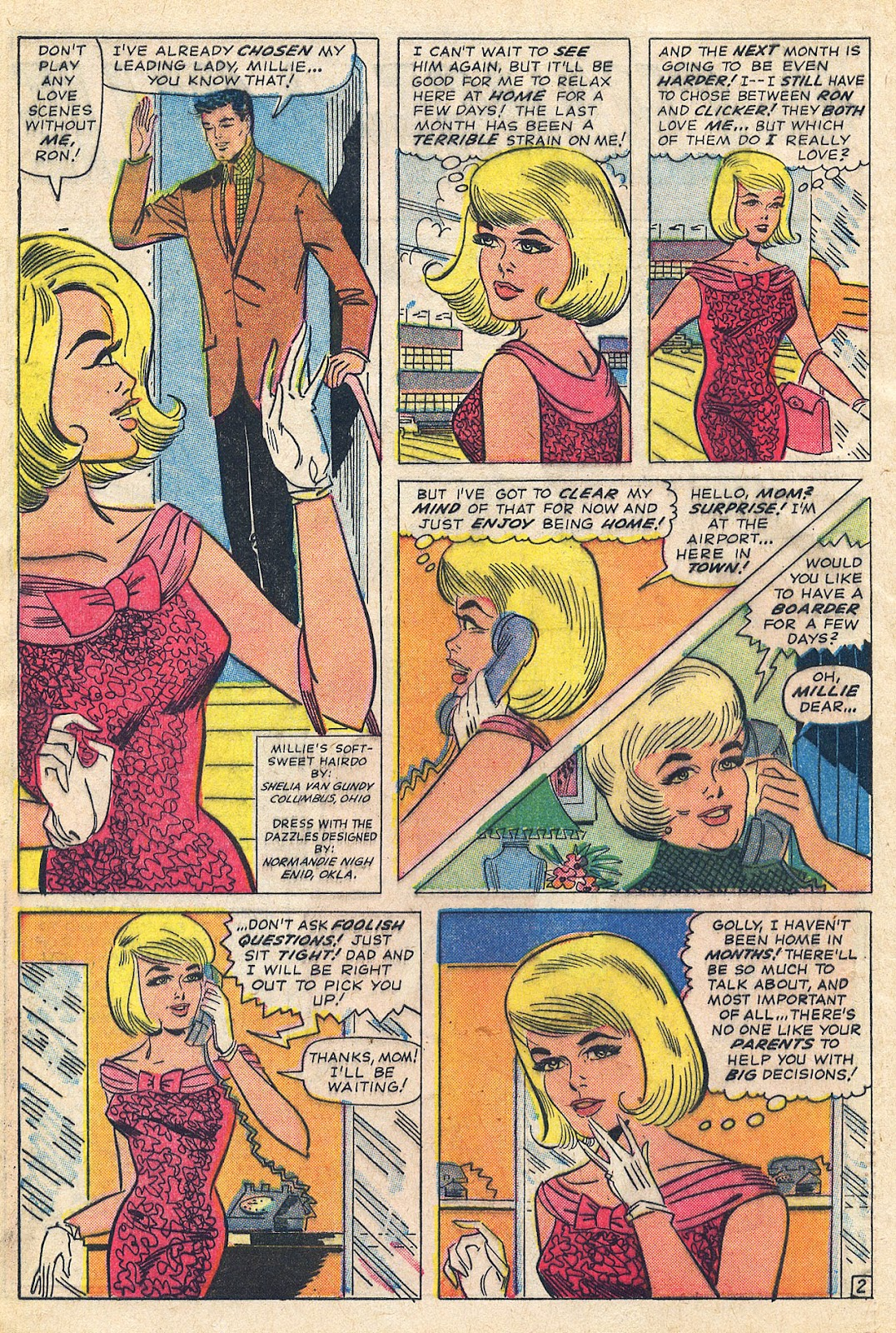 Millie the Model issue 131 - Page 4