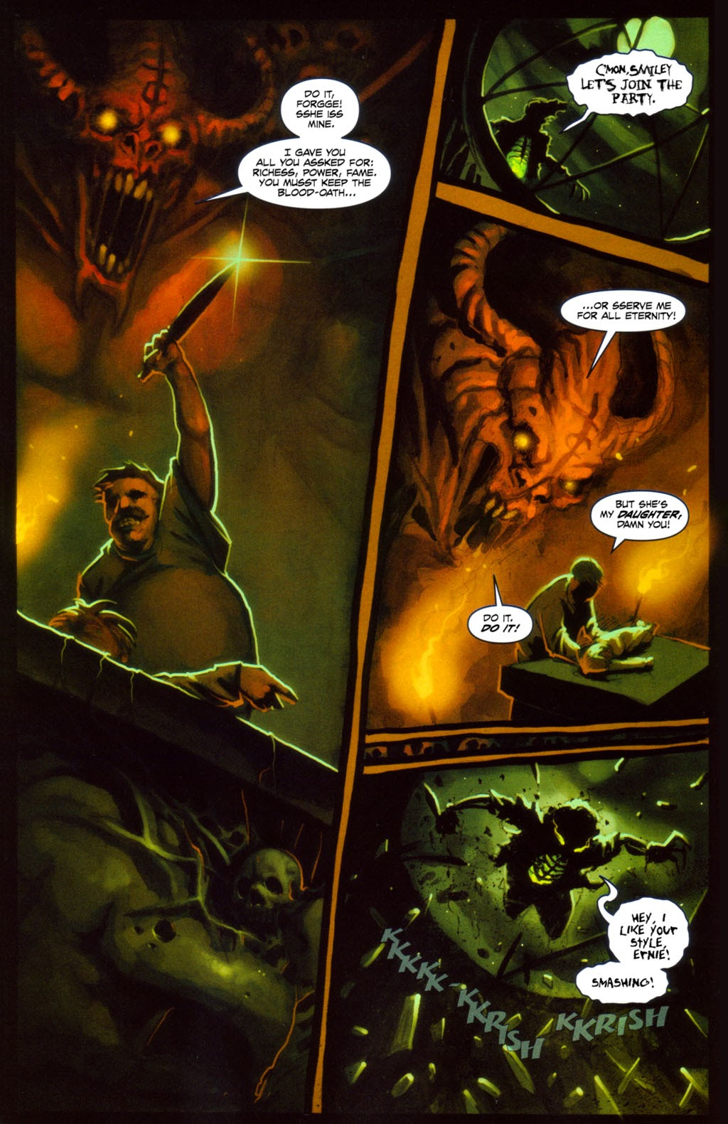 Read online Evil Ernie in Santa Fe comic -  Issue #4 - 11