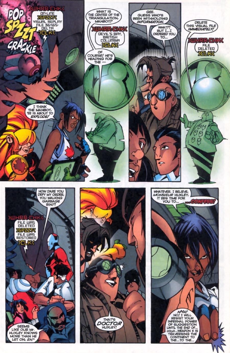 Read online Alpha Flight (1997) comic -  Issue #19 - 21