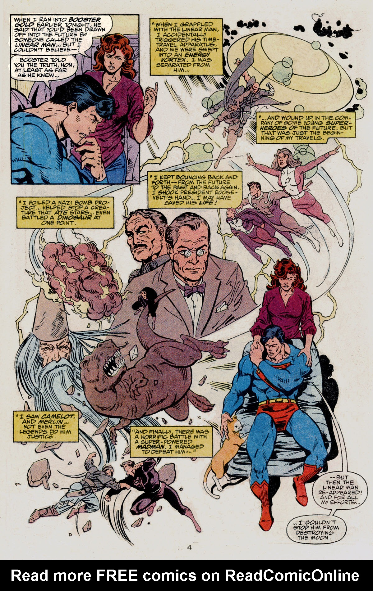 Read online Action Comics (1938) comic -  Issue #665 - 6