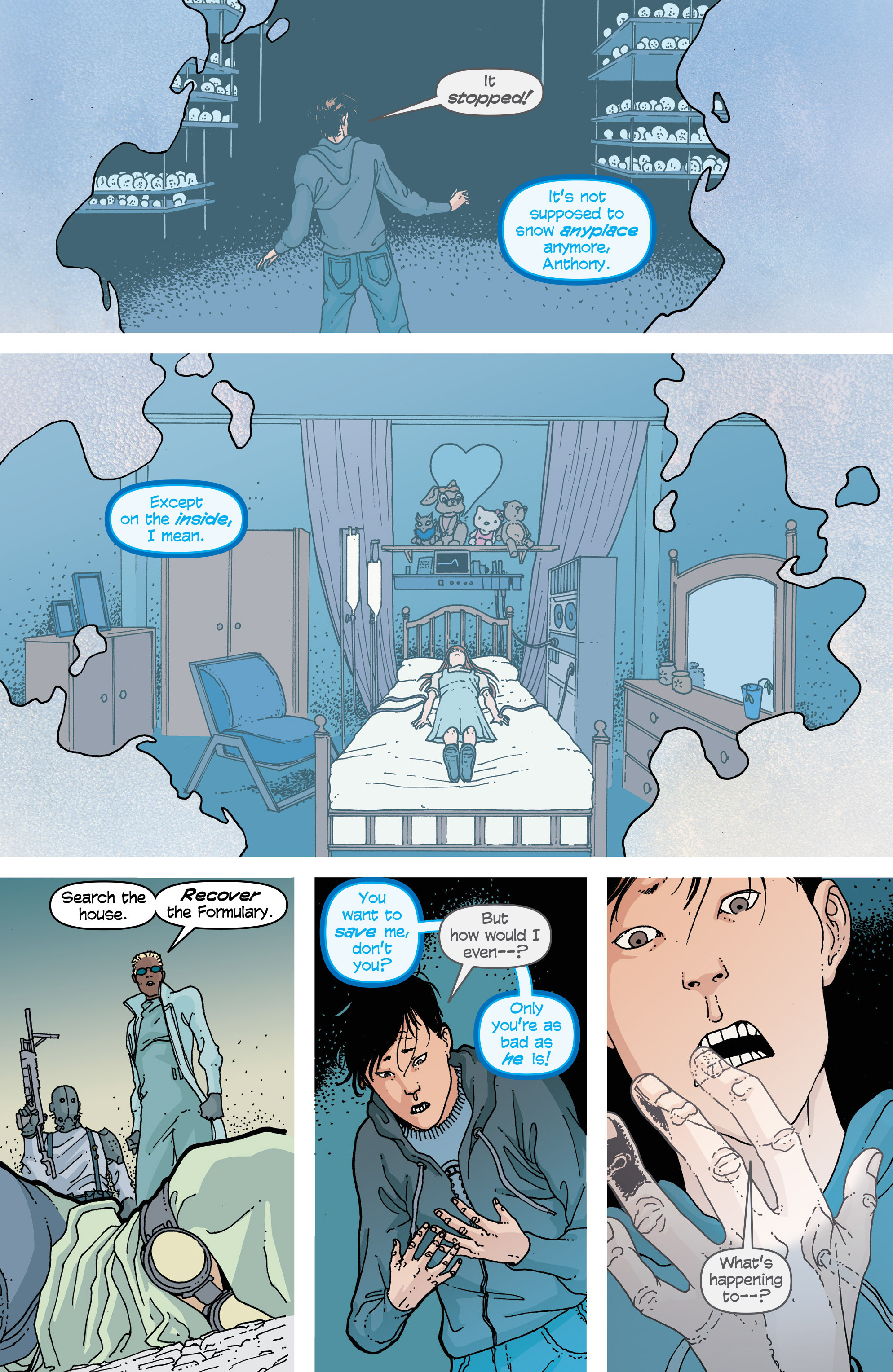 Read online Snowfall comic -  Issue #2 - 25