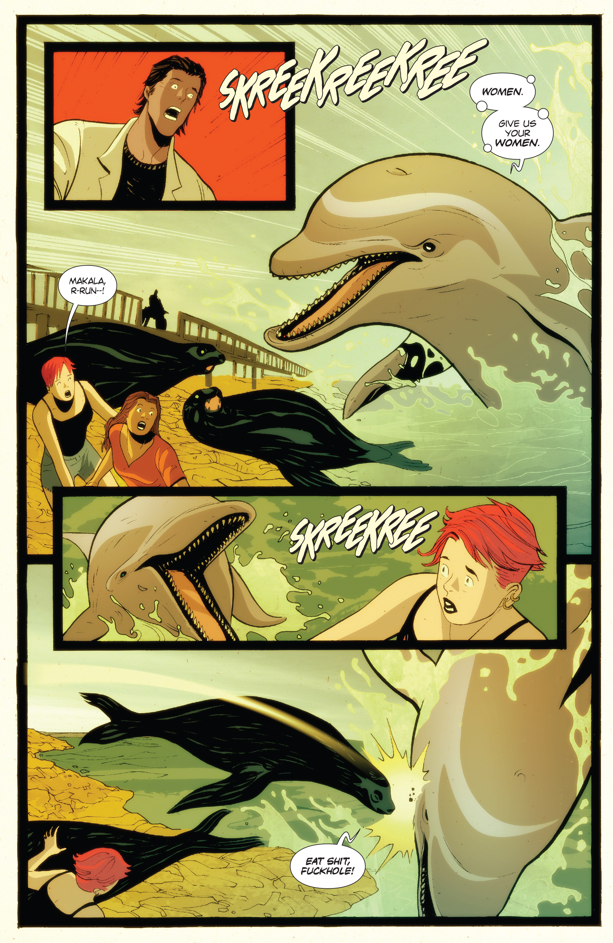 Read online Animosity: The Rise comic -  Issue #Animosity: The Rise Full - 7