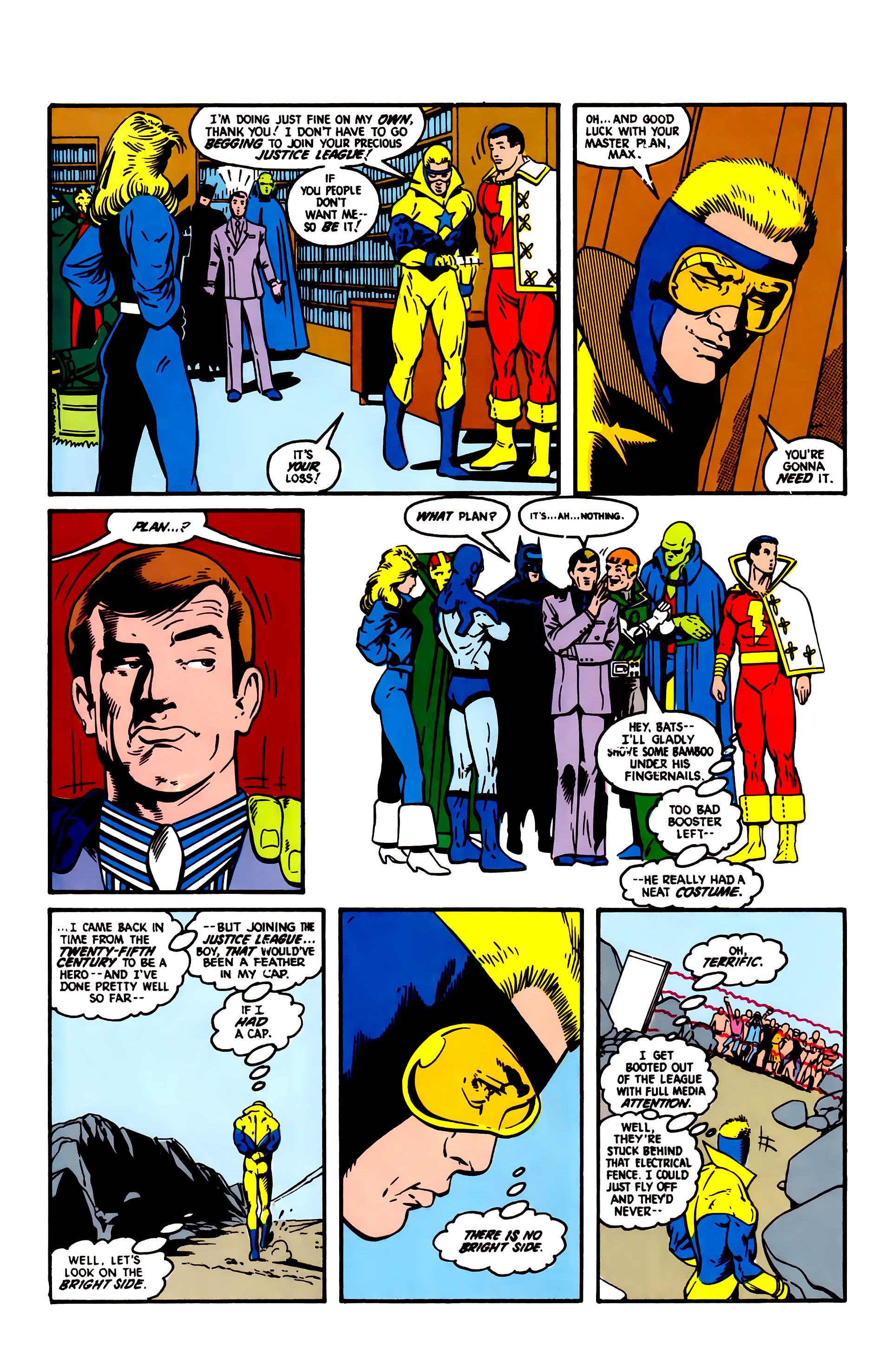 Read online Justice League (1987) comic -  Issue #4 - 6