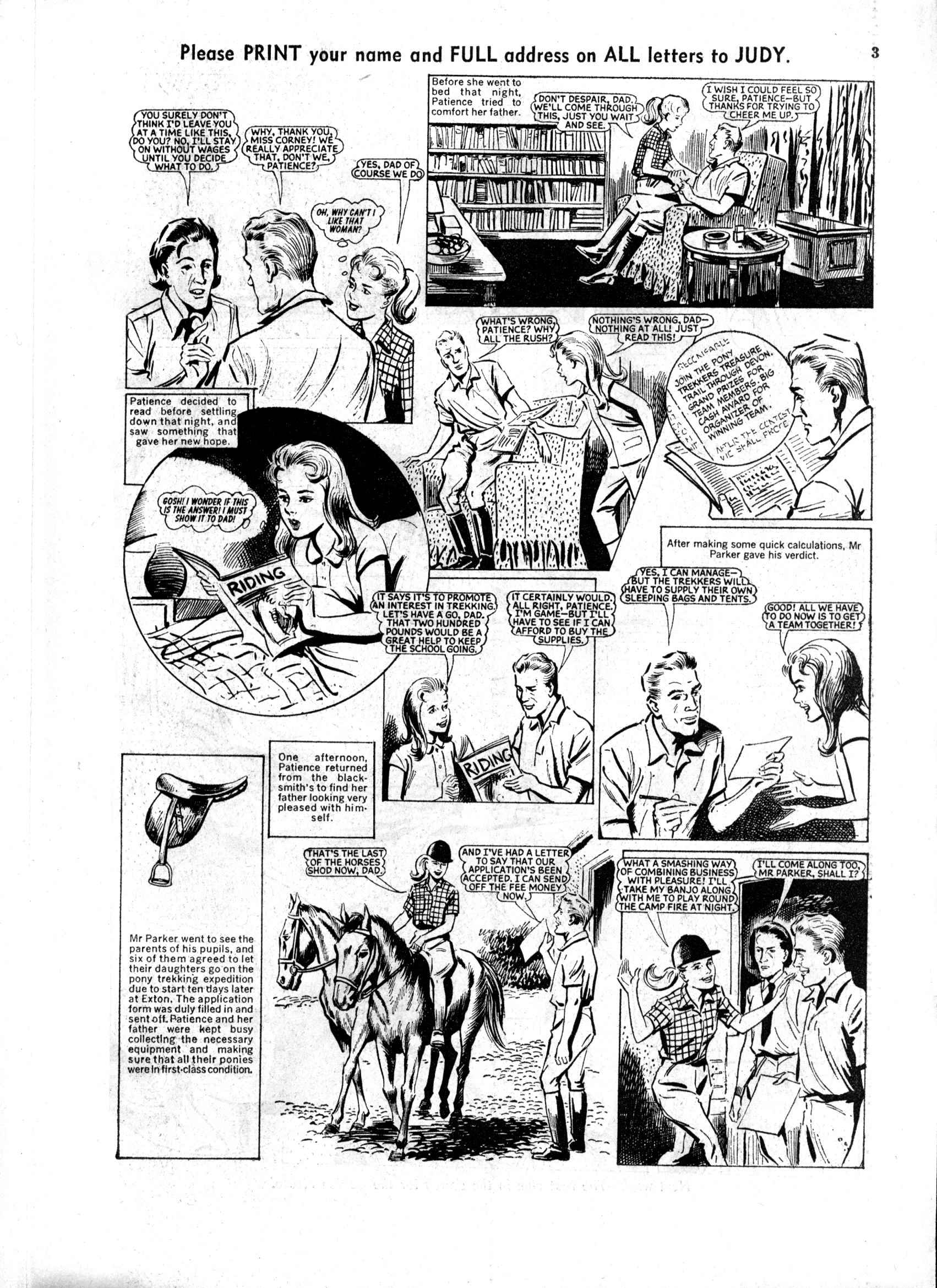 Read online Judy comic -  Issue #168 - 3