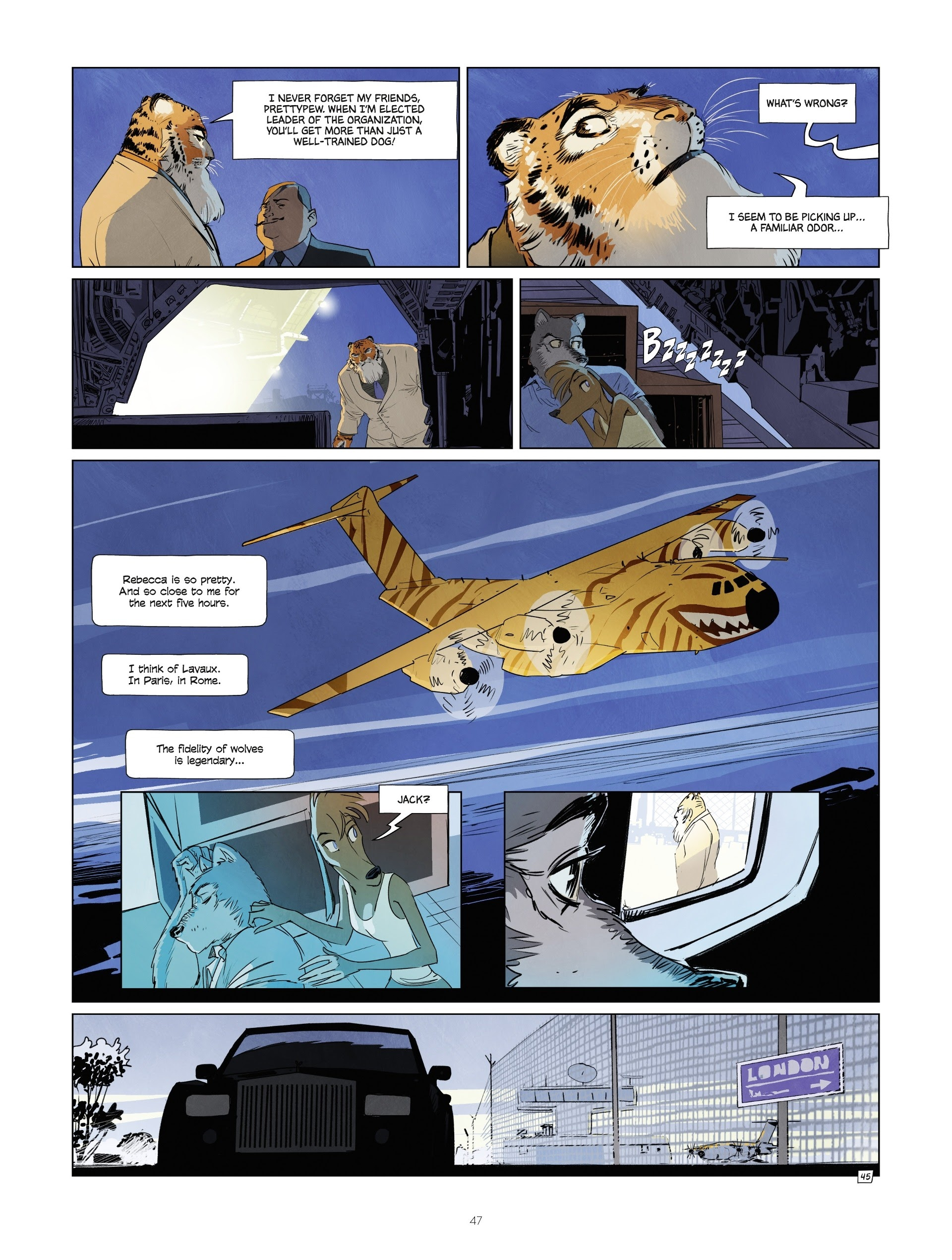 Read online Jack Wolfgang comic -  Issue #3 - 49