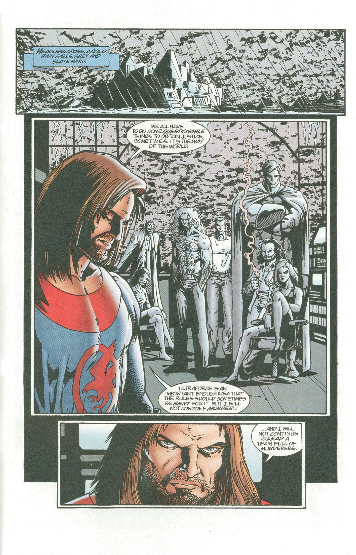 Read online UltraForce (1995) comic -  Issue #7 - 31