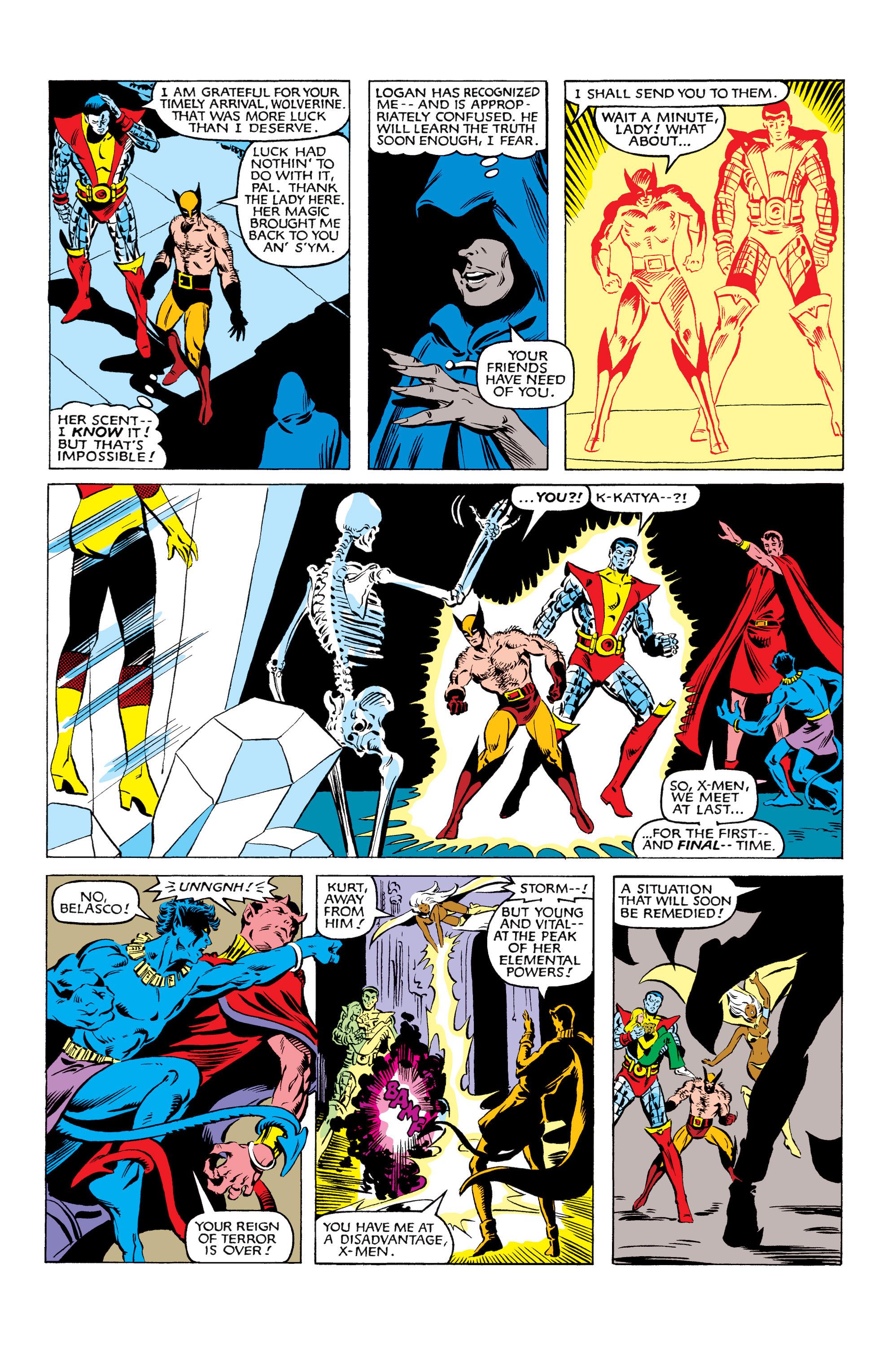 Read online Uncanny X-Men (1963) comic -  Issue #160 - 18