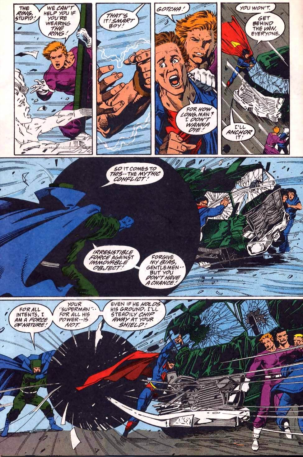 Read online Adventures of Superman (1987) comic -  Issue #508 - 22