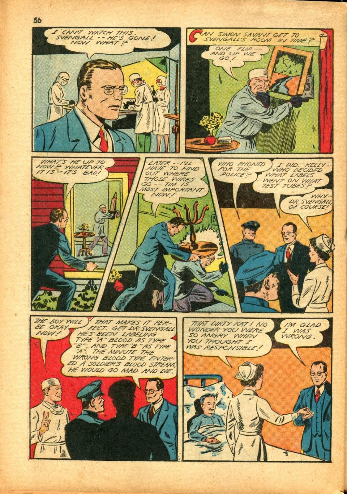 Read online Super-Magician Comics comic -  Issue #15 - 55