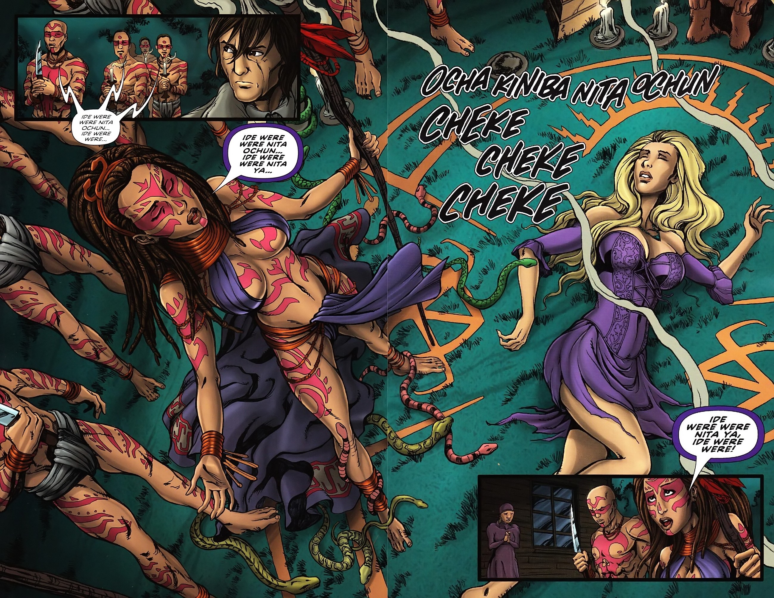 Read online Salem's Daughter: The Haunting comic -  Issue #4 - 13