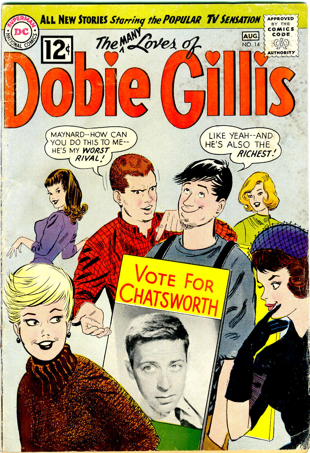 Many Loves of Dobie Gillis issue 14 - Page 1