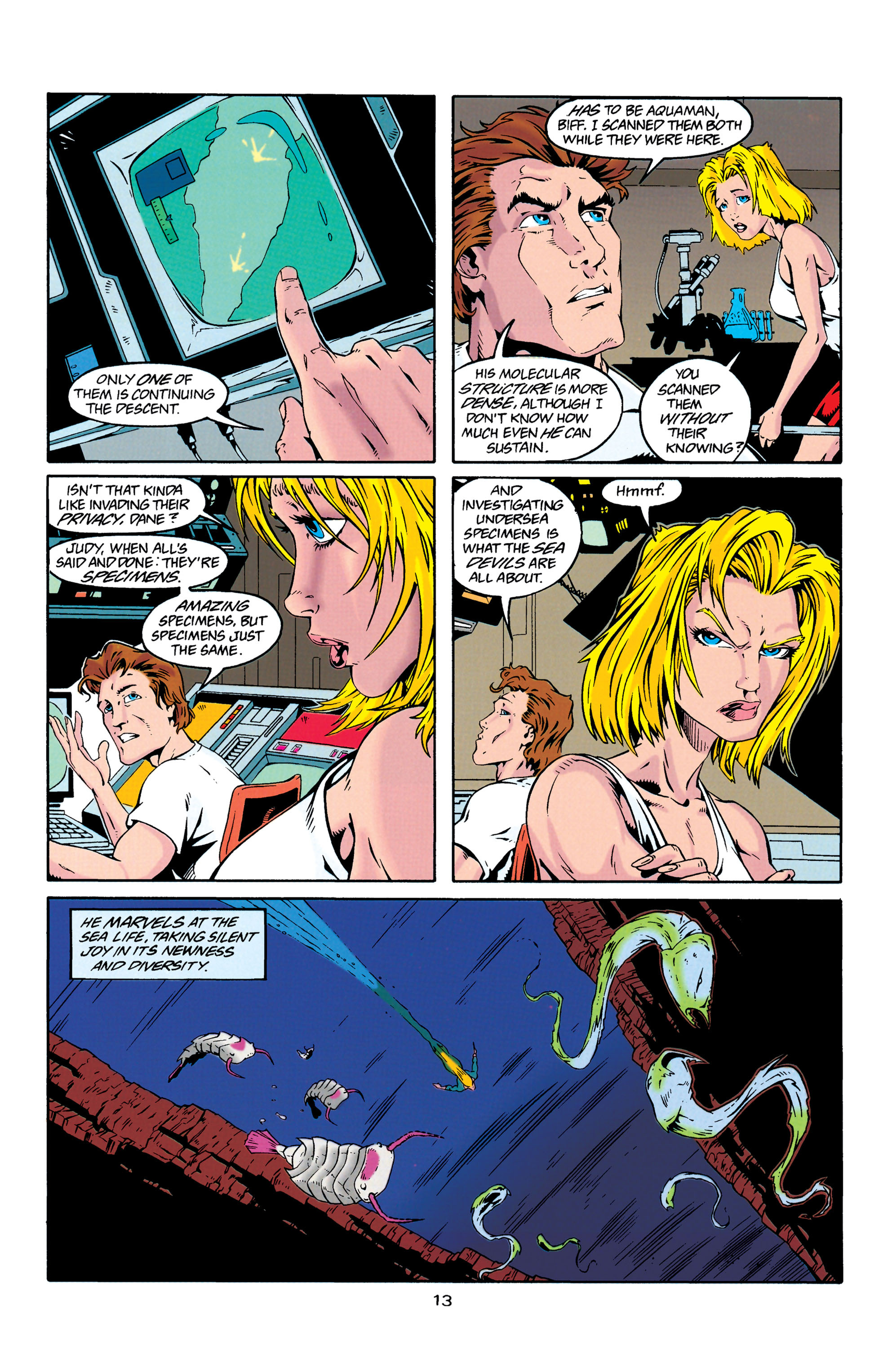 Read online Aquaman (1994) comic -  Issue #29 - 13