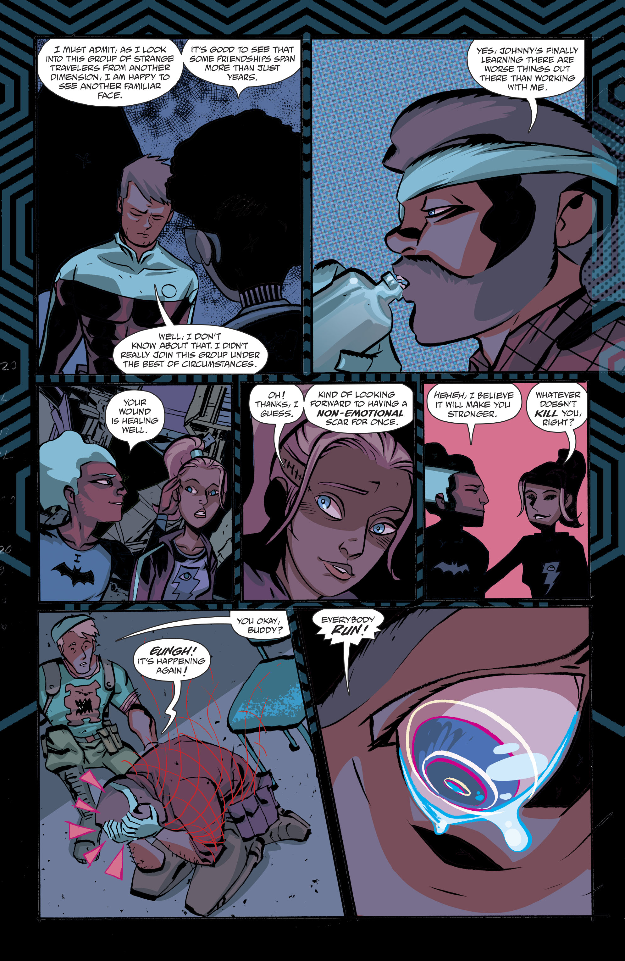 Read online Cave Carson Has a Cybernetic Eye comic -  Issue #8 - 17