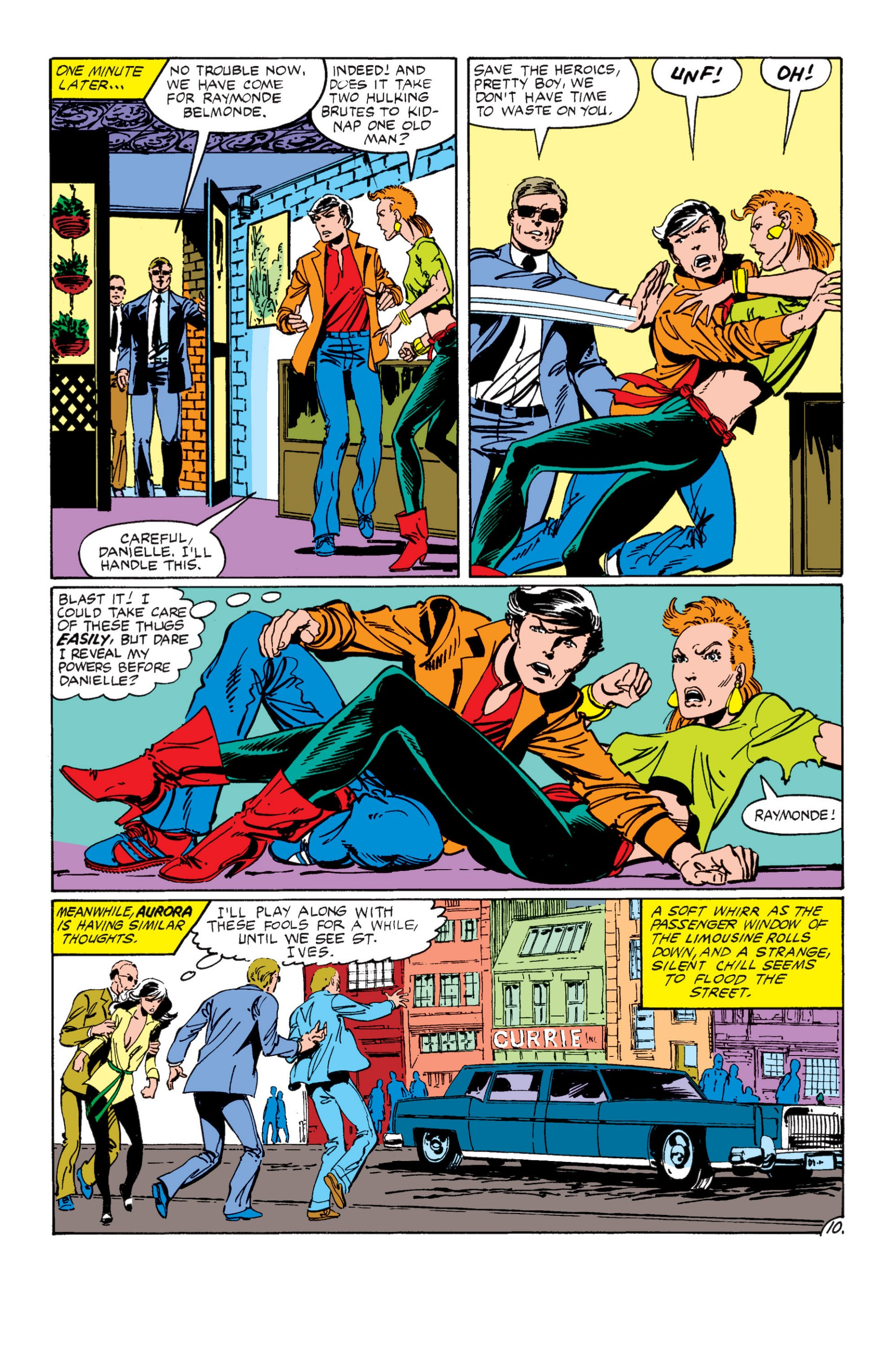 Read online Alpha Flight (1983) comic -  Issue #7 - 11