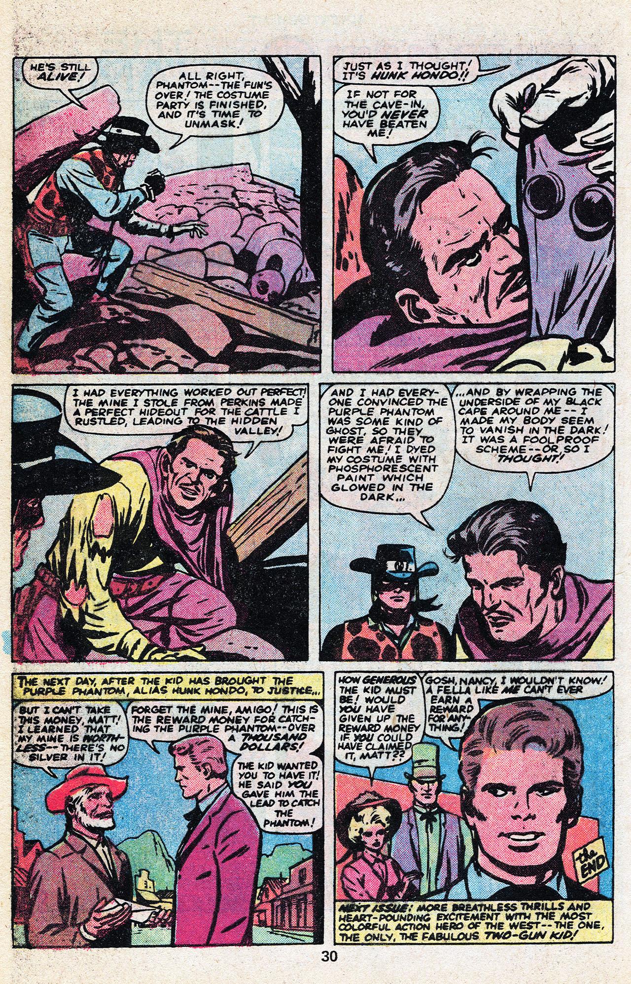 Read online Two-Gun Kid comic -  Issue #136 - 32