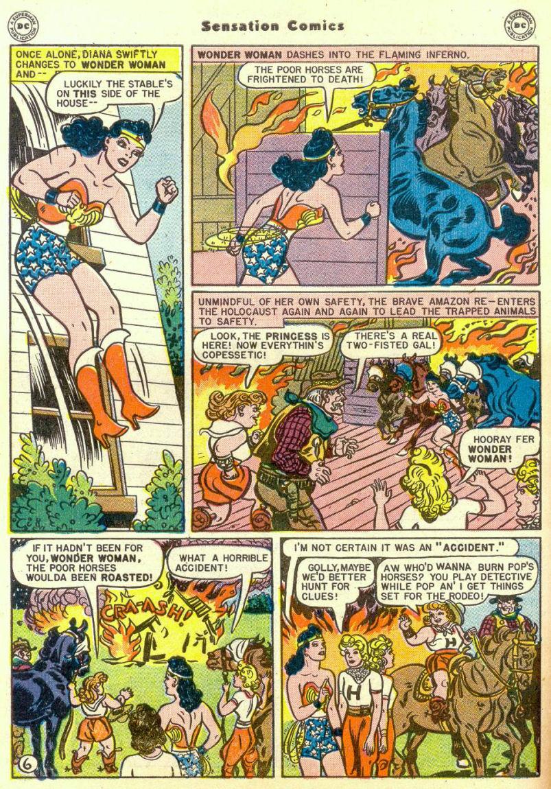 Read online Sensation (Mystery) Comics comic -  Issue #67 - 8