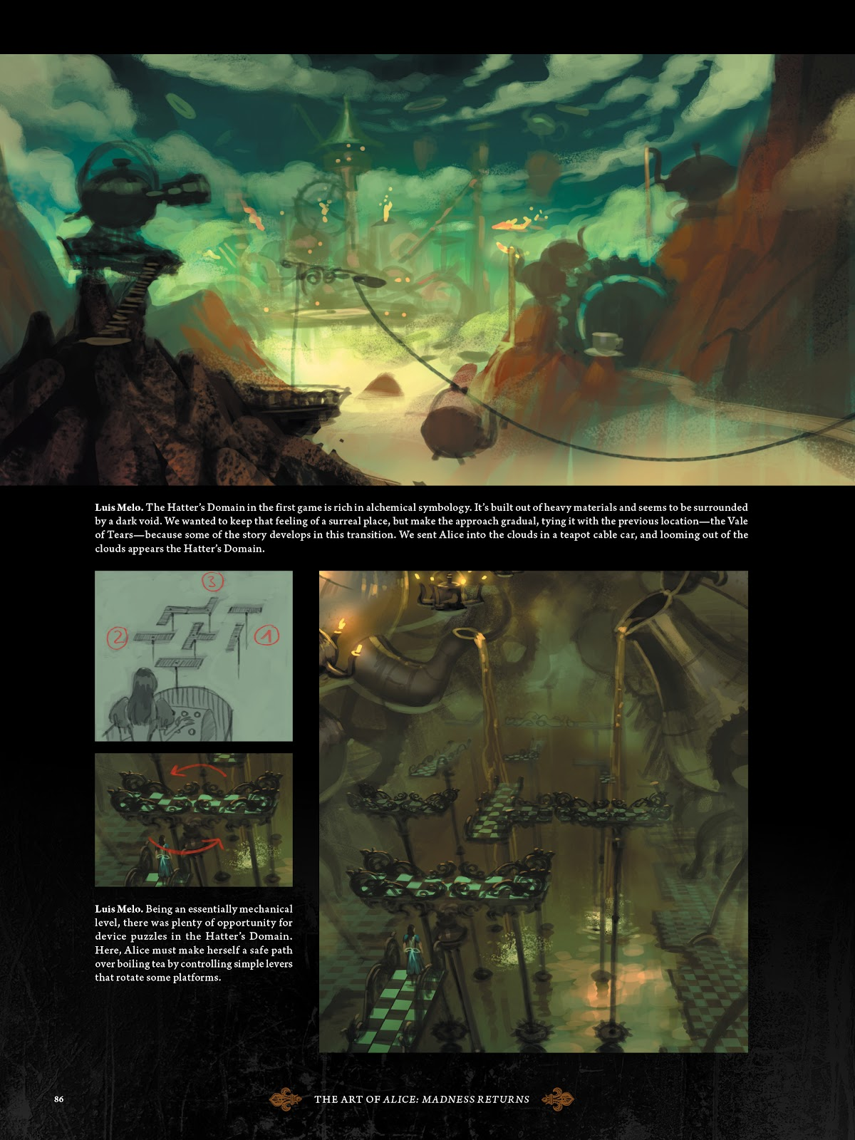 Read online The Art of Alice: Madness Returns comic -  Issue # TPB (Part 1) - 77
