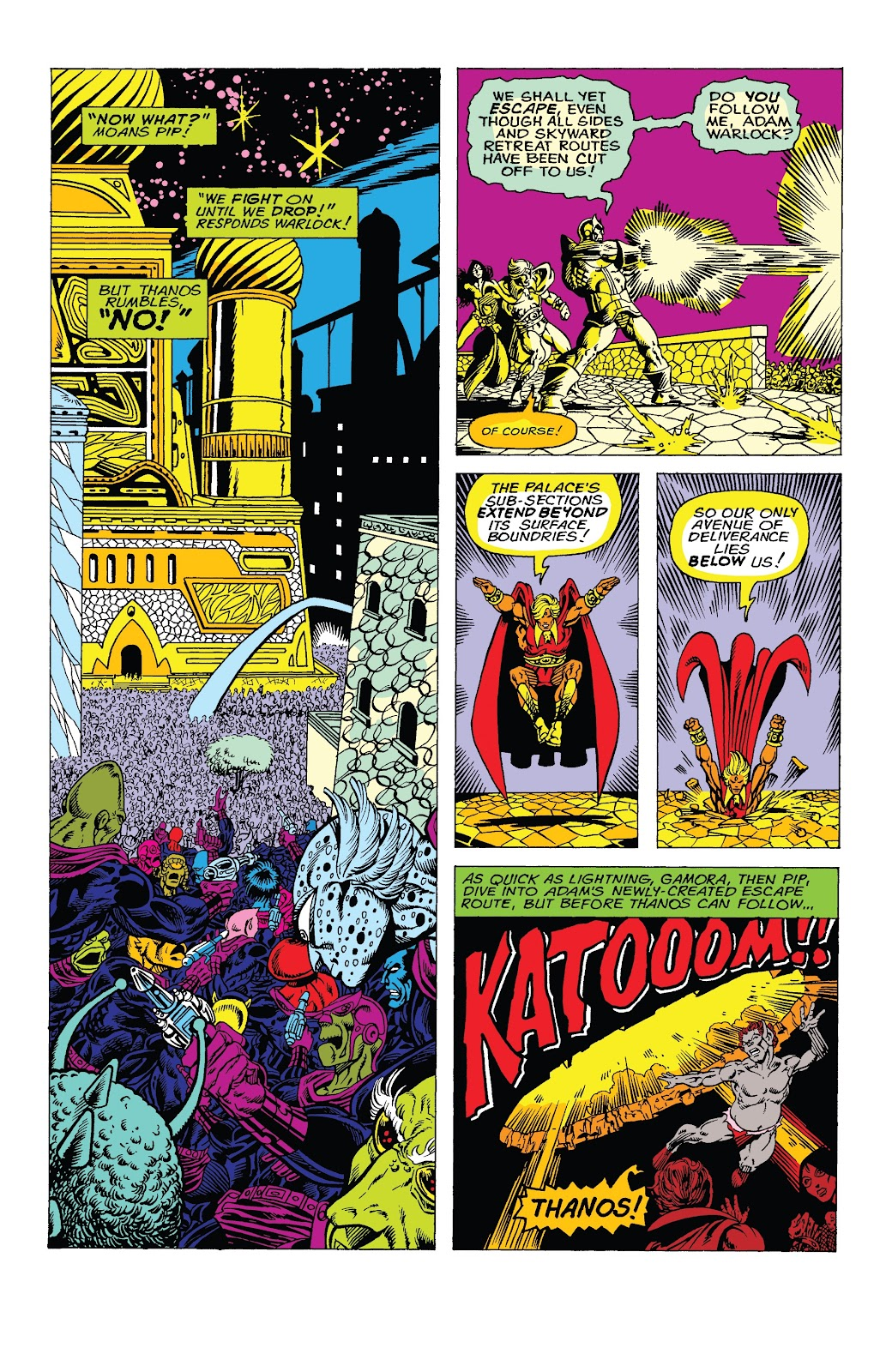 Read online Marvel Tales: Thanos comic -  Issue # Full - 10