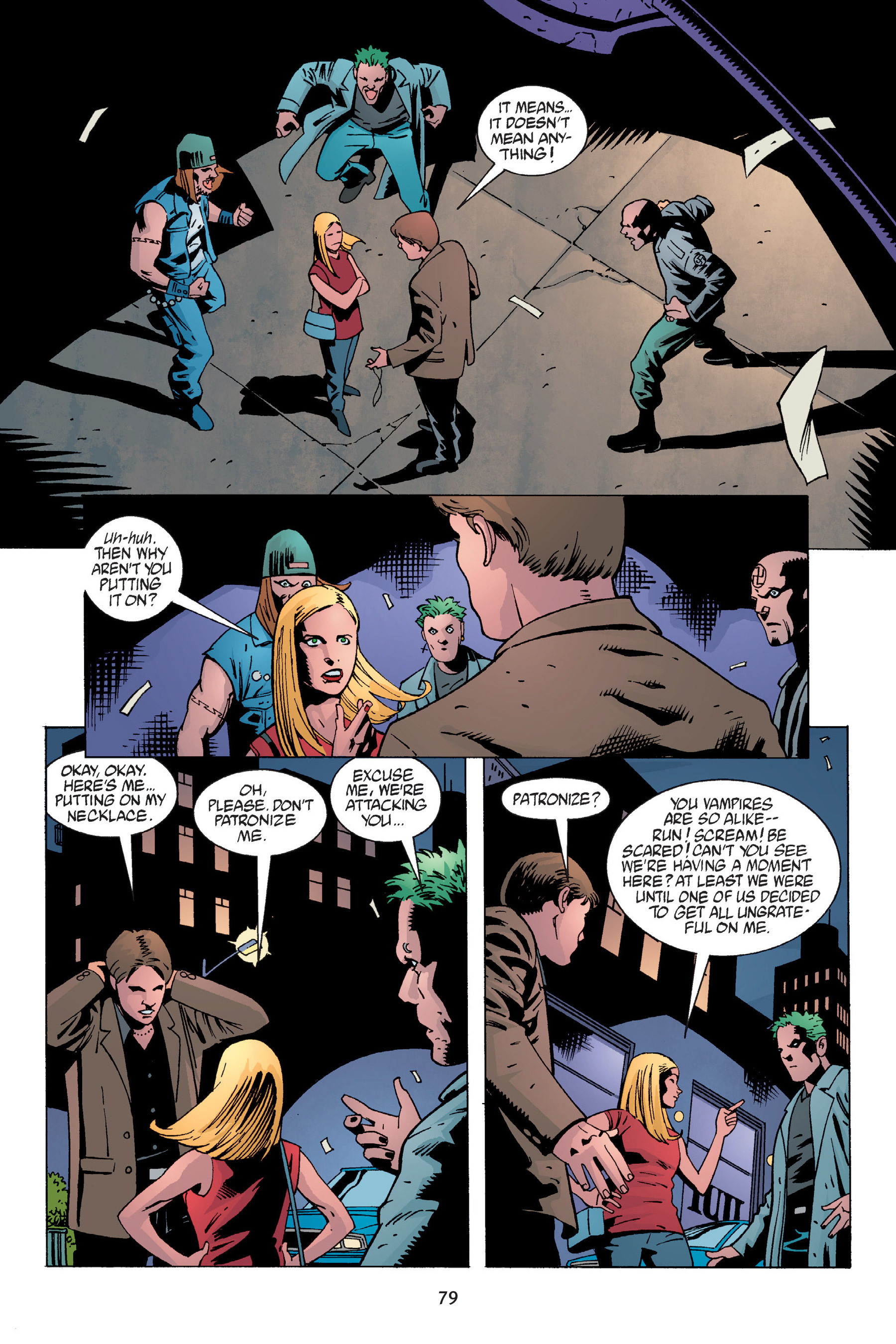 Read online Buffy the Vampire Slayer: Omnibus comic -  Issue # TPB 6 - 80