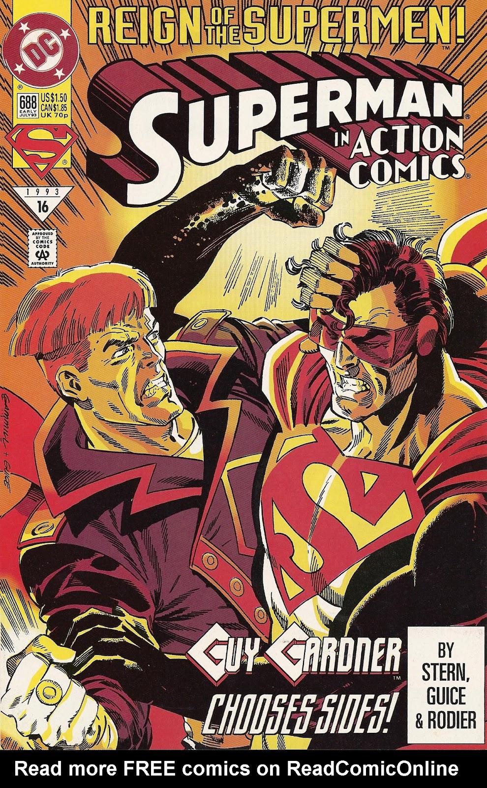 Action Comics (1938) 688 Page 1