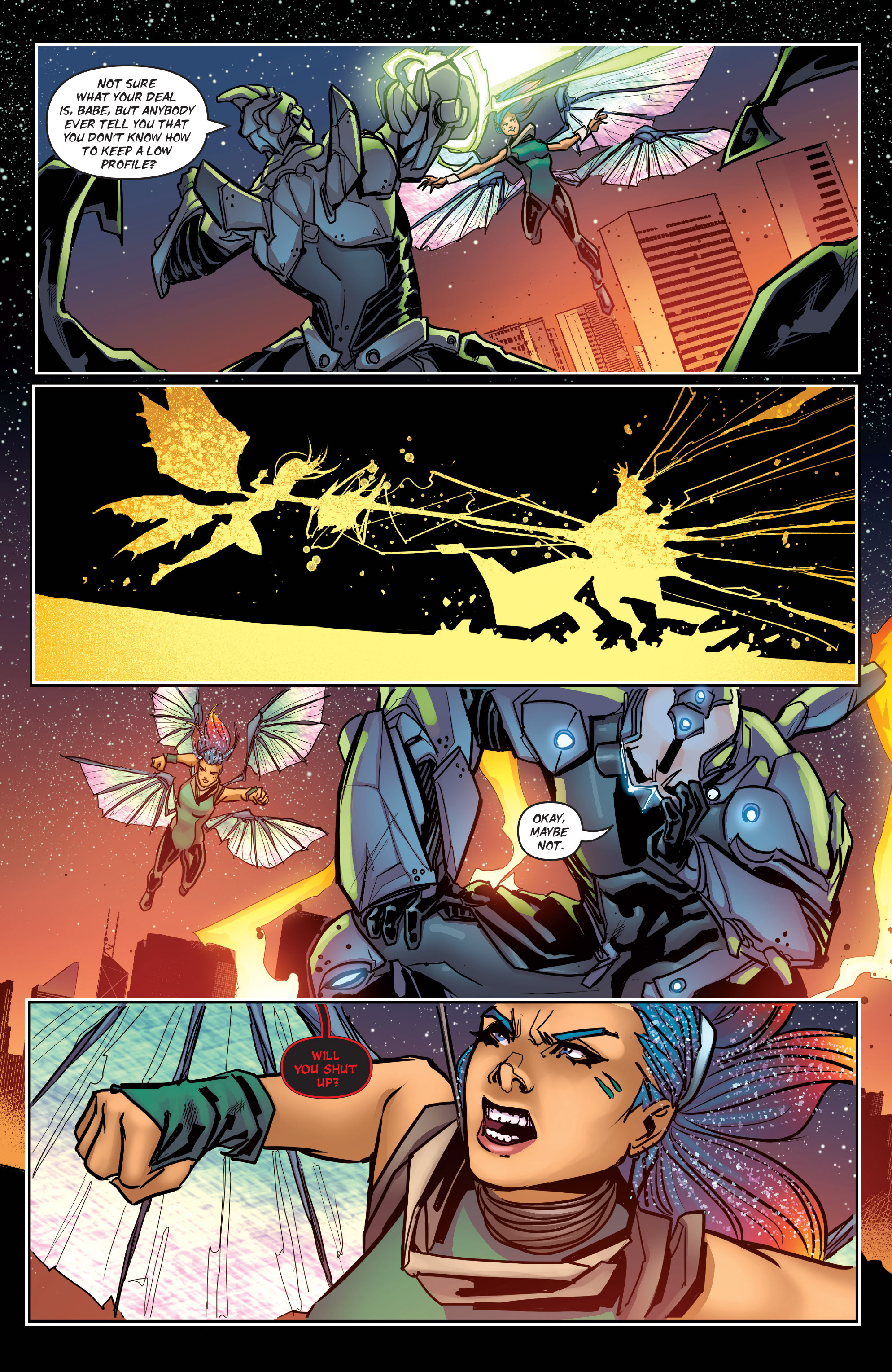 Read online All-New Soulfire Vol. 6 comic -  Issue #3 - 12
