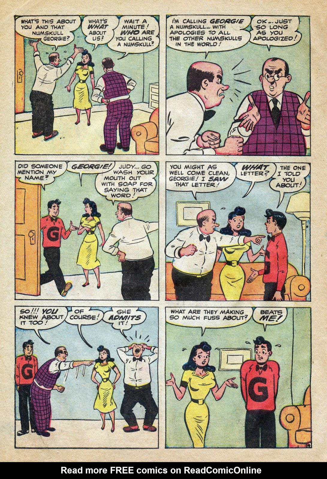 Georgie Comics (1949) issue 39 - Page 6