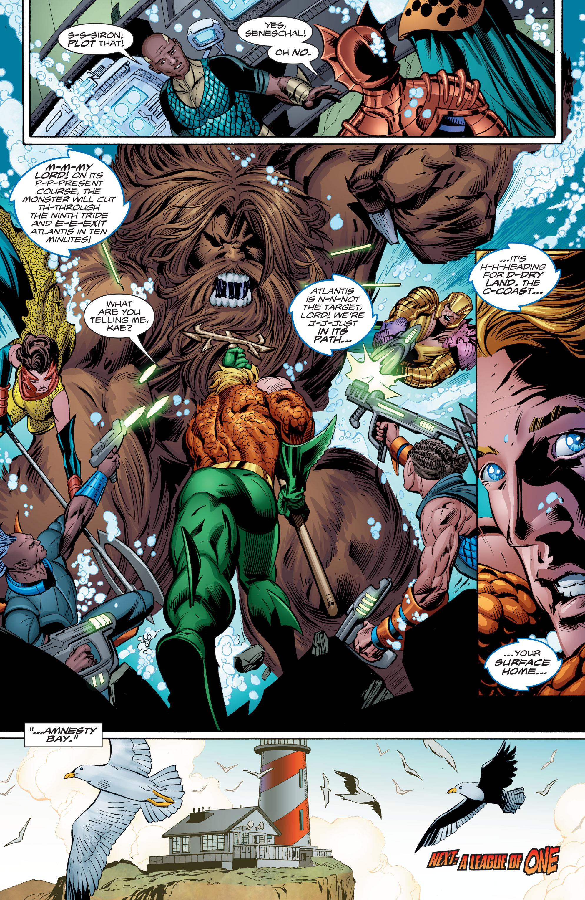 Read online Aquaman (2016) comic -  Issue #8 - 22