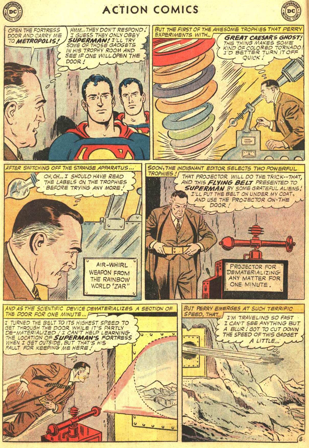 Read online Action Comics (1938) comic -  Issue #302 - 9