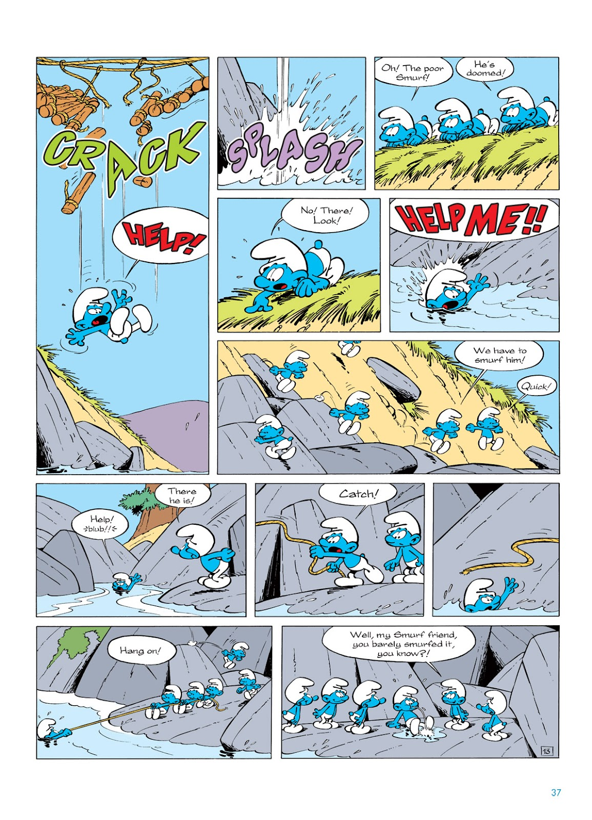 Read online The Smurfs comic -  Issue #5 - 37