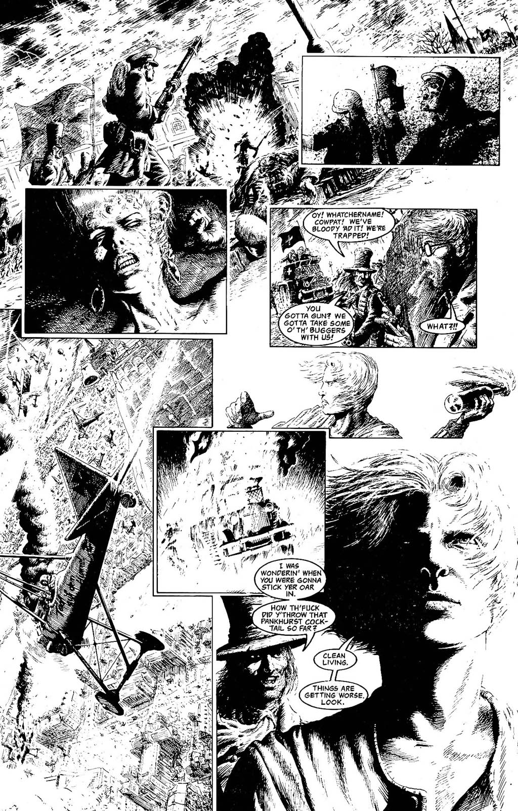 Read online The Adventures of Luther Arkwright comic -  Issue #8 - 25