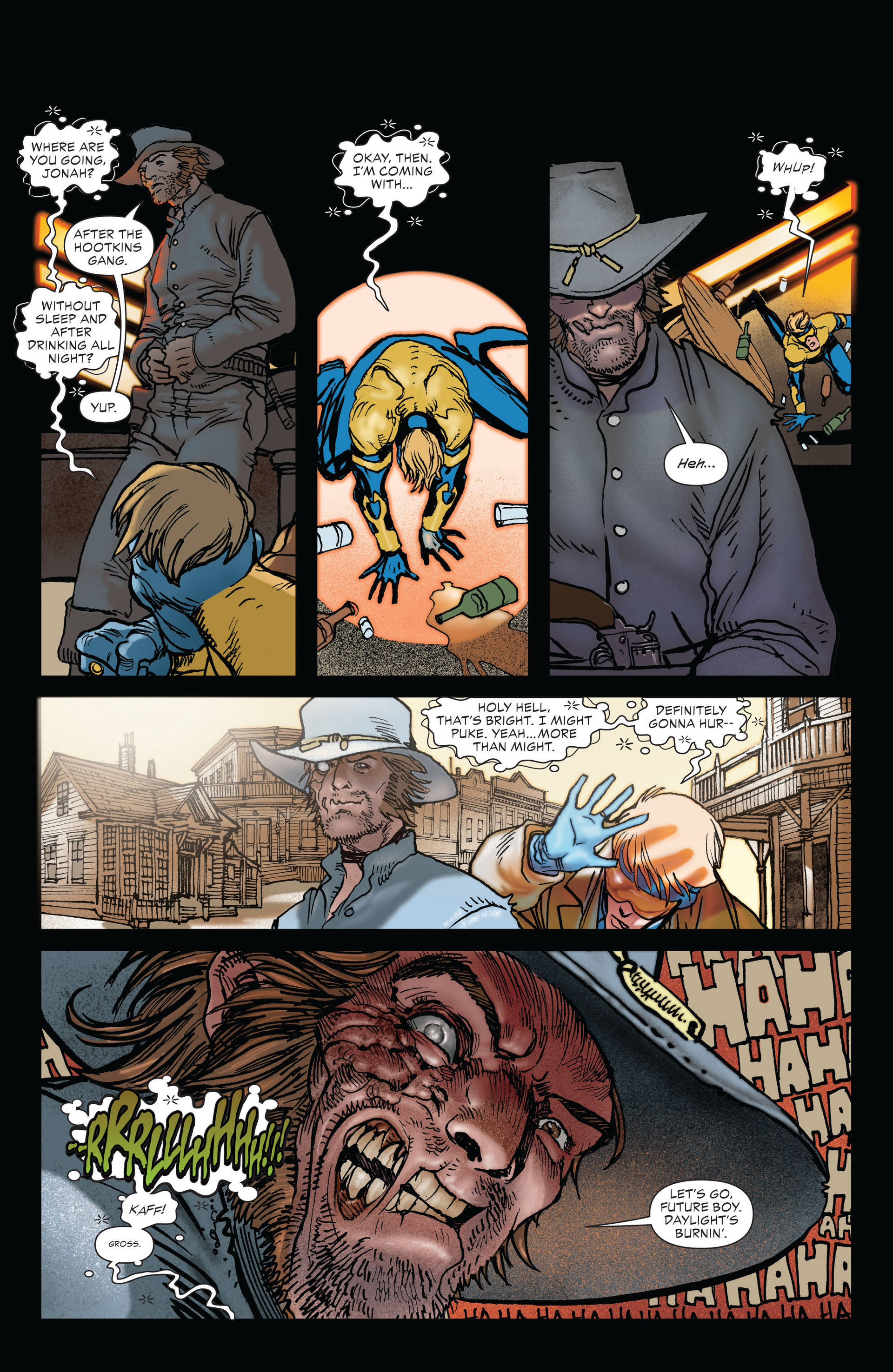 Read online All-Star Western (2011) comic -  Issue #19 - 22