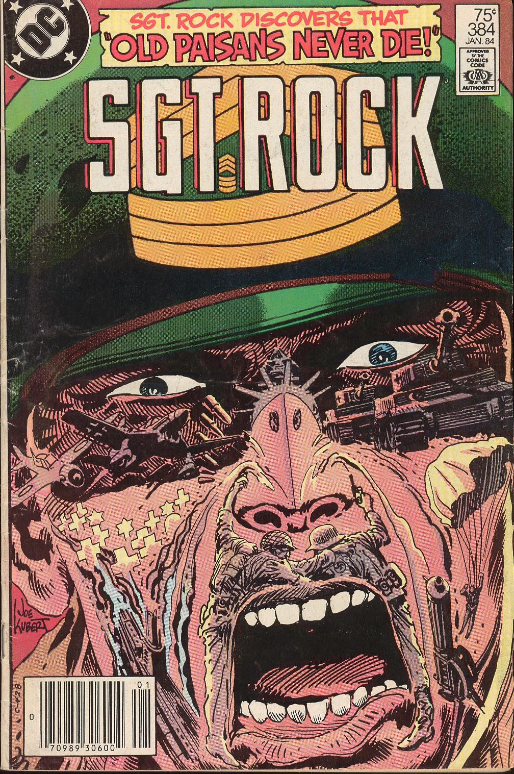 Sgt. Rock issue 384 - Page 1