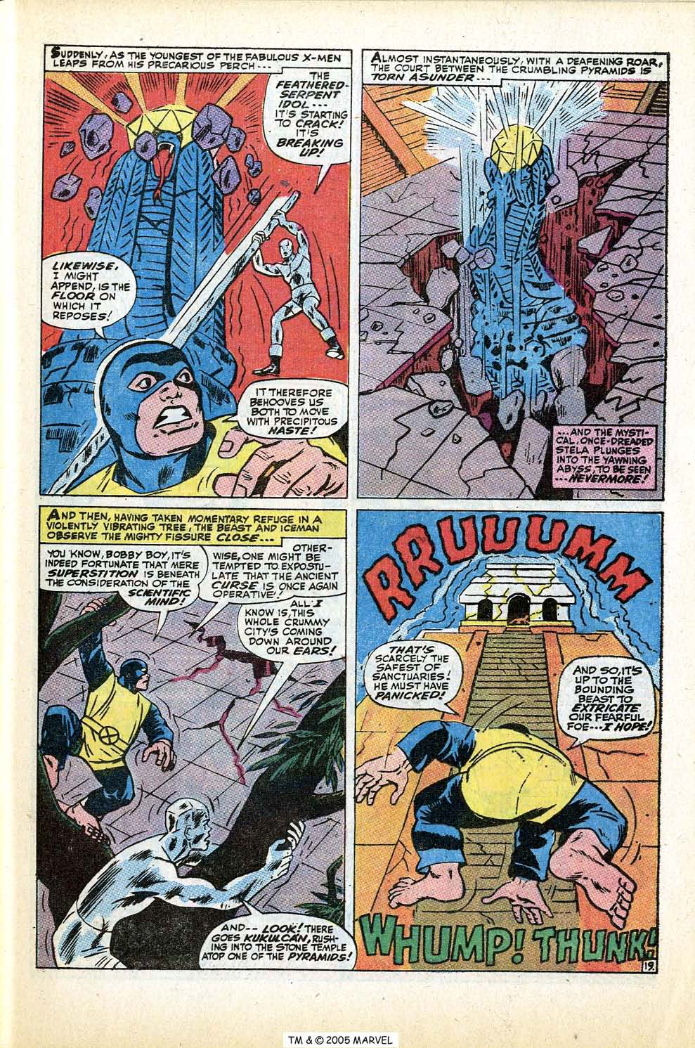 Read online Uncanny X-Men (1963) comic -  Issue #74 - 29