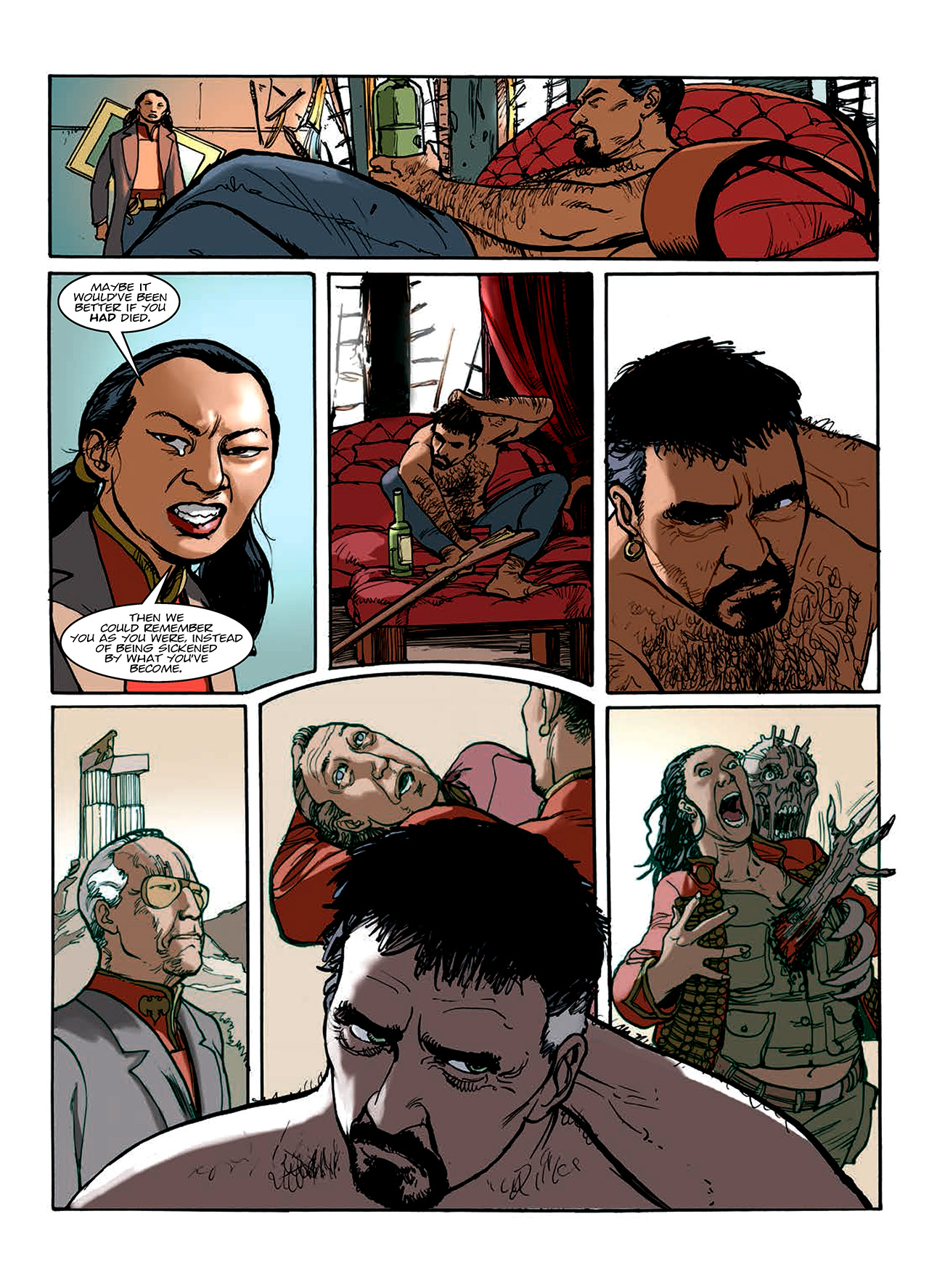 Read online Nikolai Dante comic -  Issue # TPB 10 - 151