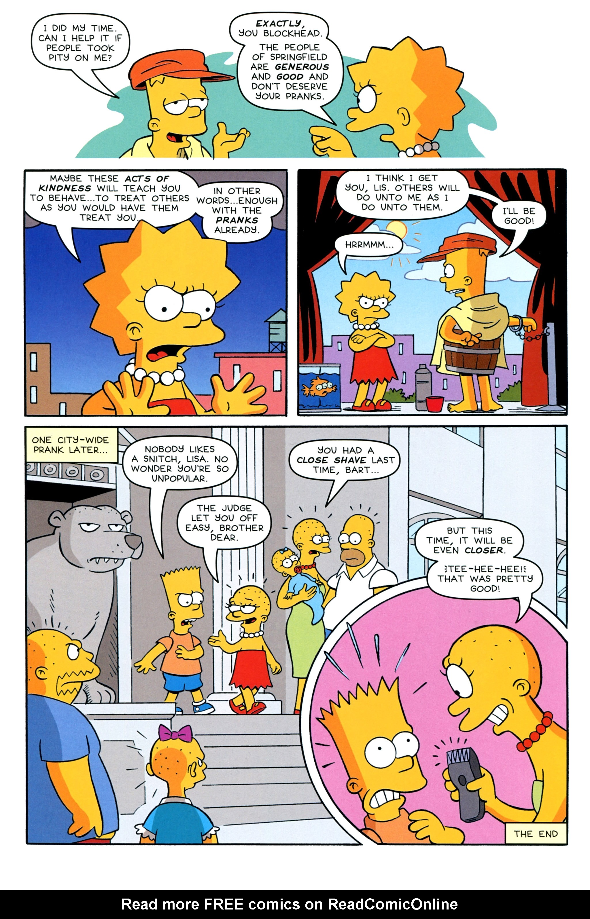 Read online Simpsons Comics Presents Bart Simpson comic -  Issue #92 - 26