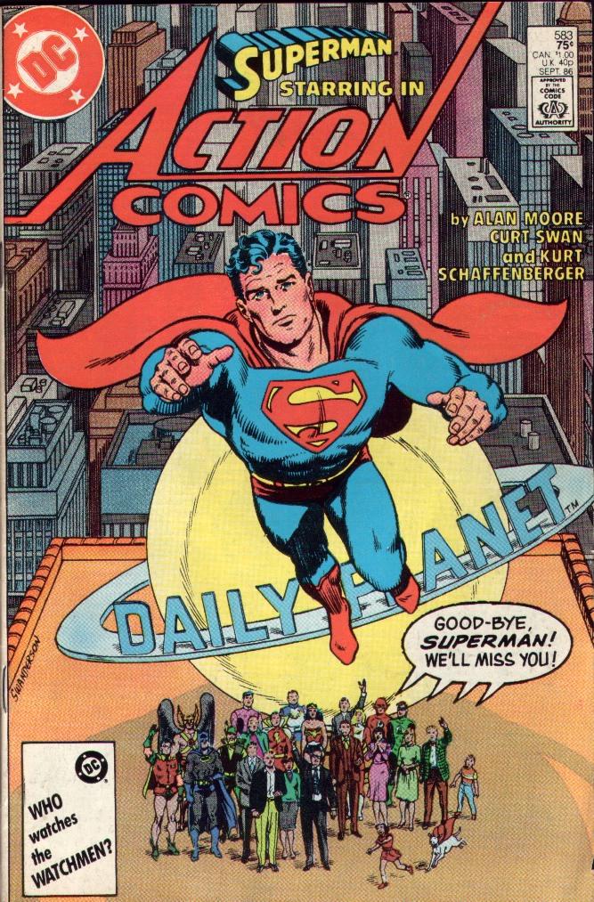 Action Comics (1938) 583 Page 0