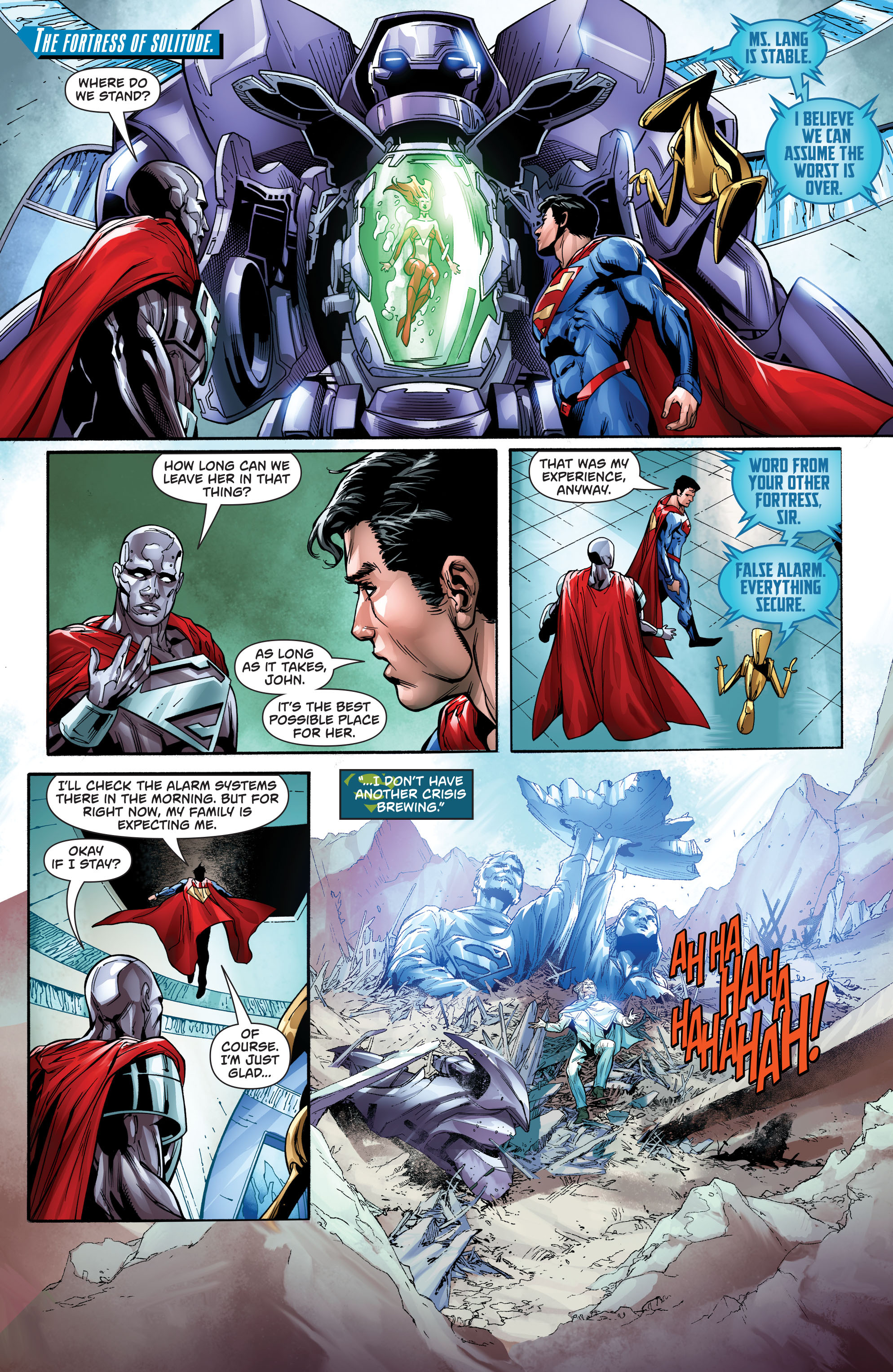 Read online Action Comics (2016) comic -  Issue #974 - 19