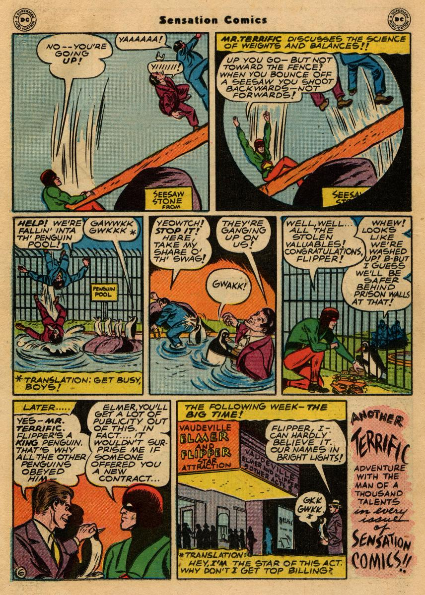 Read online Sensation (Mystery) Comics comic -  Issue #61 - 38