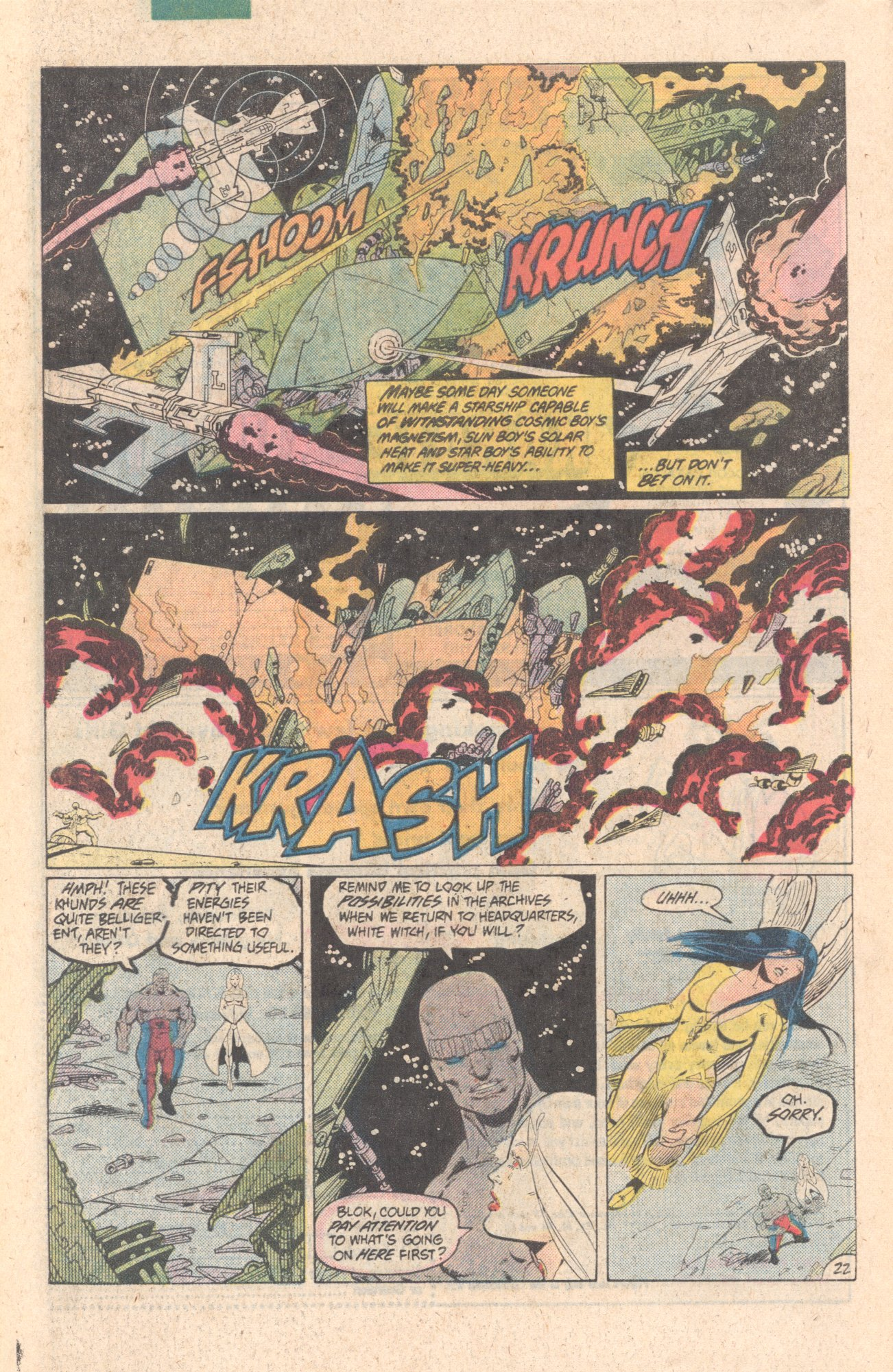 Legion of Super-Heroes (1980) 299 Page 22