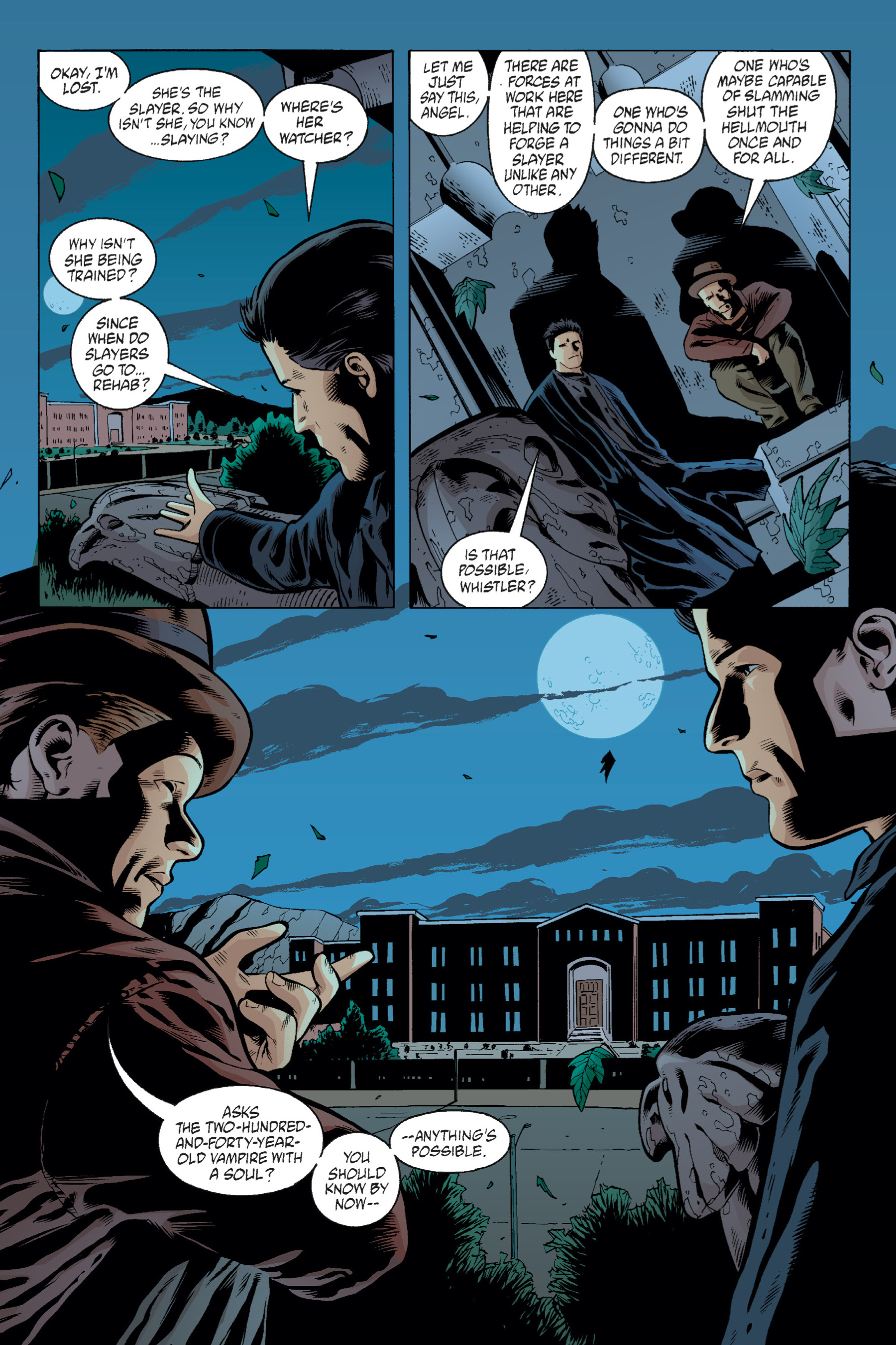 Read online Buffy the Vampire Slayer: Omnibus comic -  Issue # TPB 1 - 255