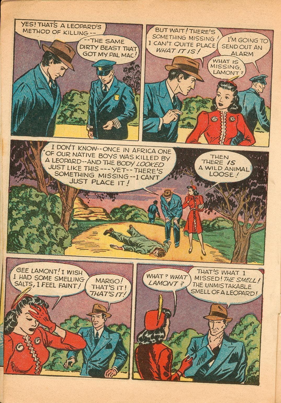 Read online Shadow Comics comic -  Issue #11 - 8