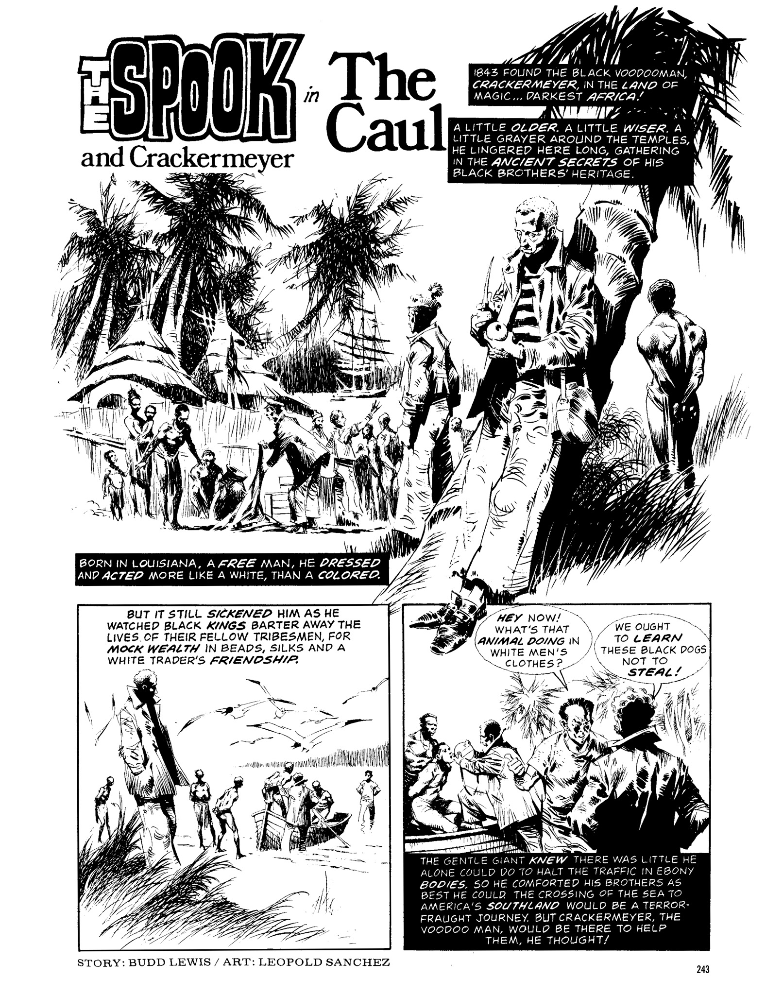 Read online Eerie Archives comic -  Issue # TPB 13 - 244