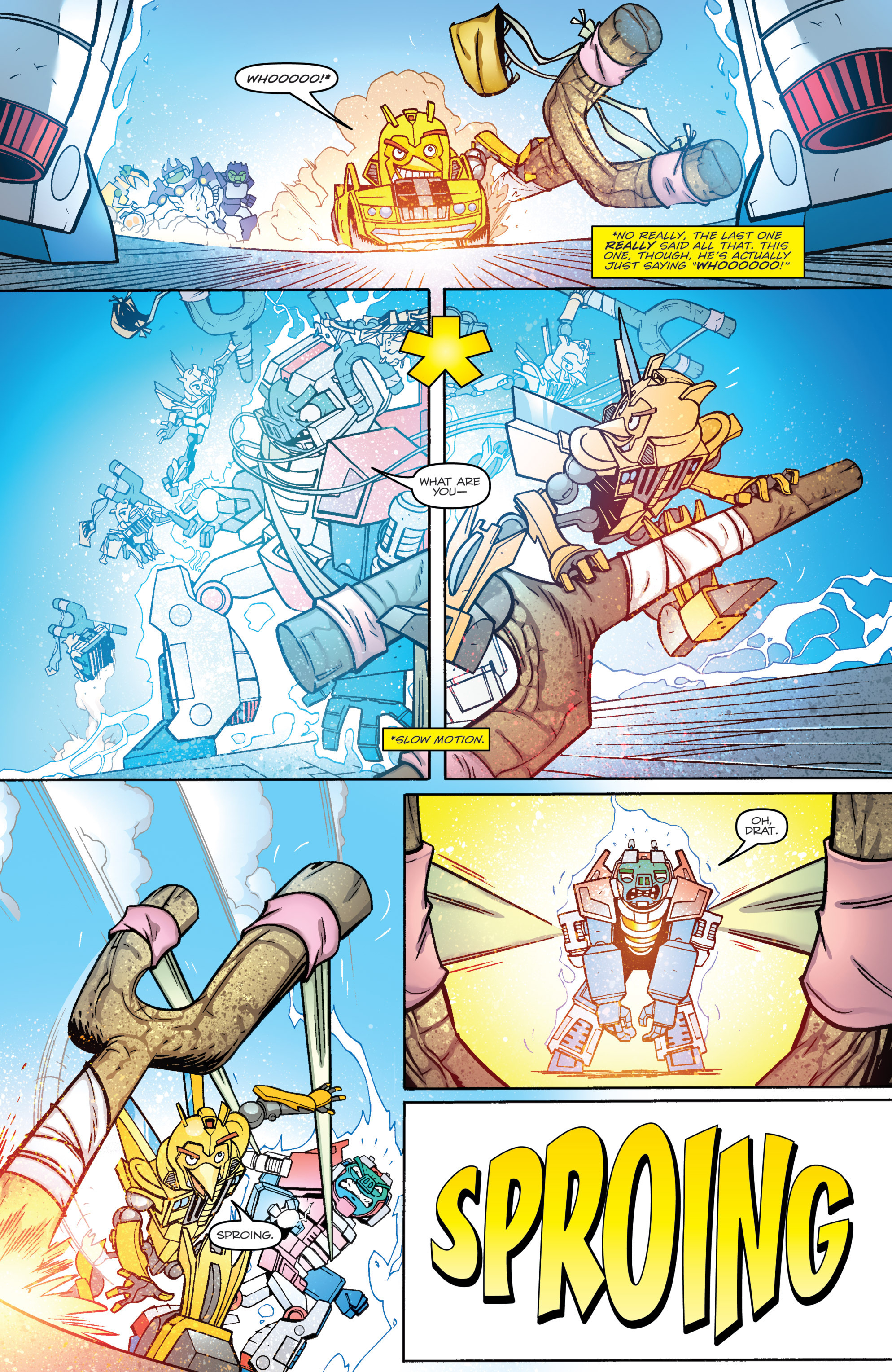 Read online Angry Birds Transformers comic -  Issue #4 - 18